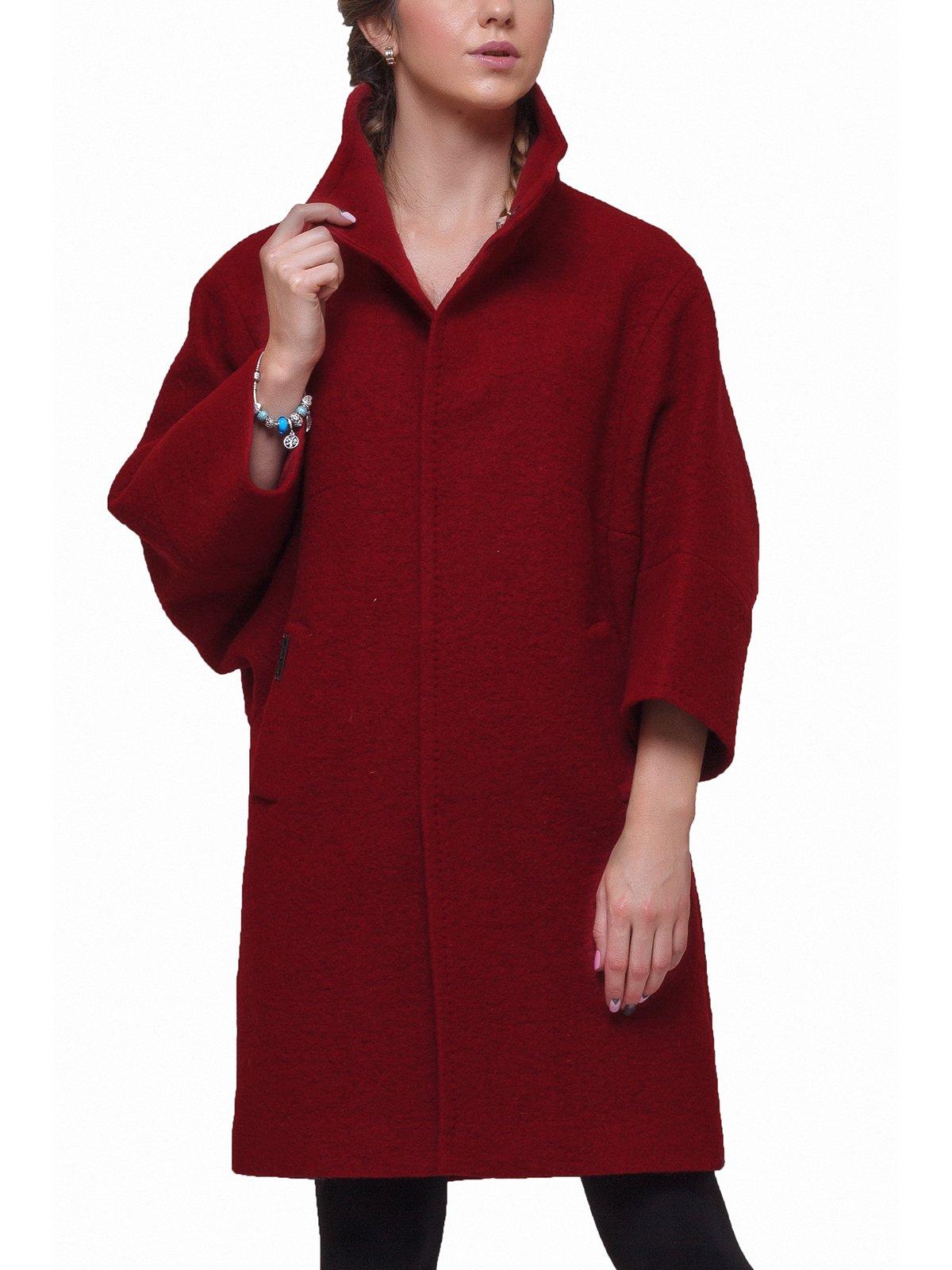 Пальто красное | 2783188 | фото 3