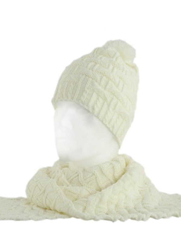 Комплект: шарф и шапка | 2770384
