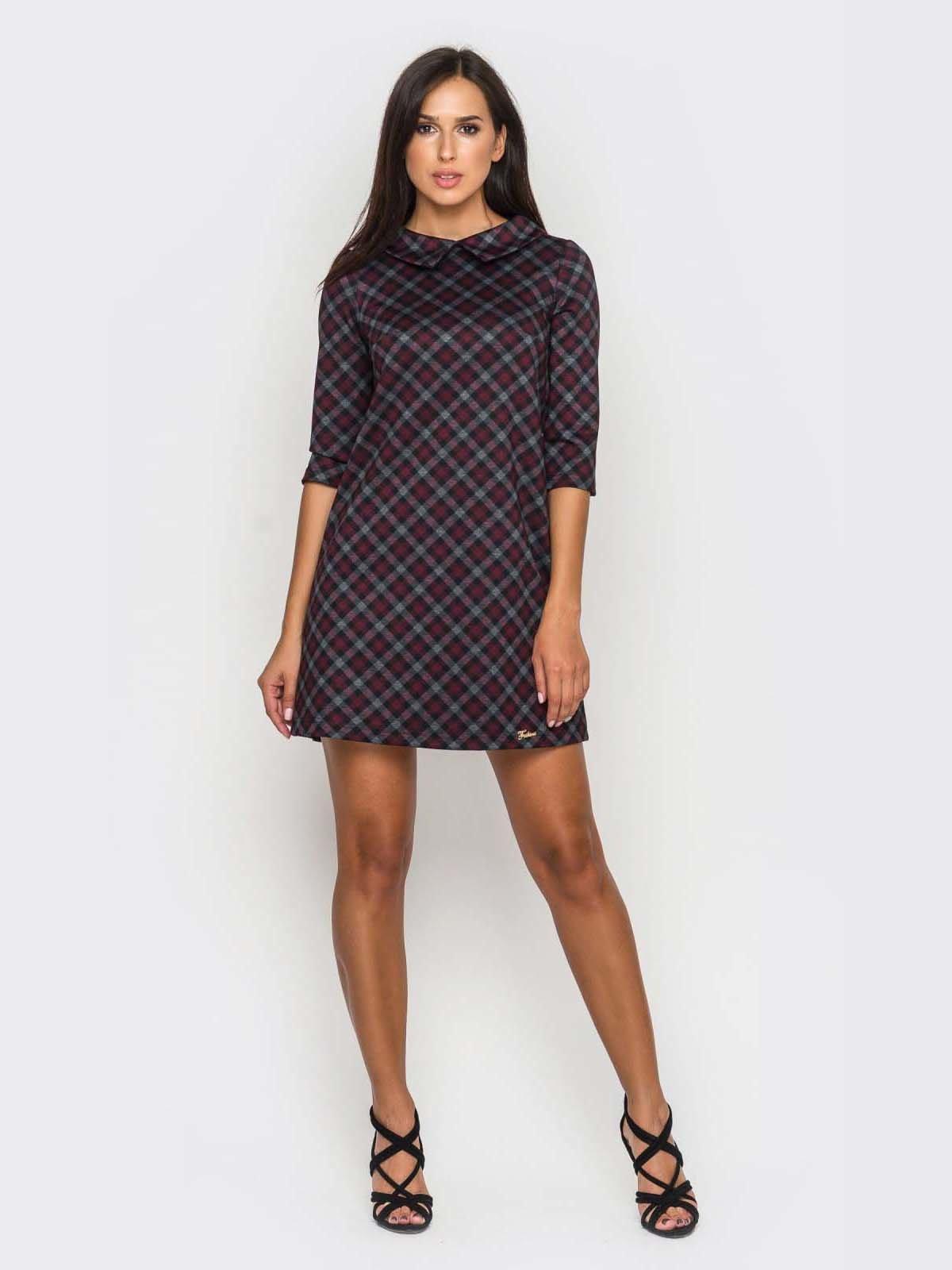 Платье клетчатое | 2789201 | фото 3