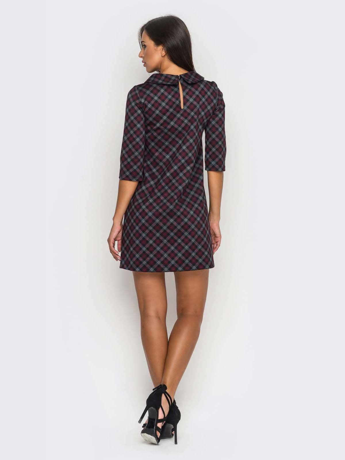 Платье клетчатое | 2789201 | фото 4