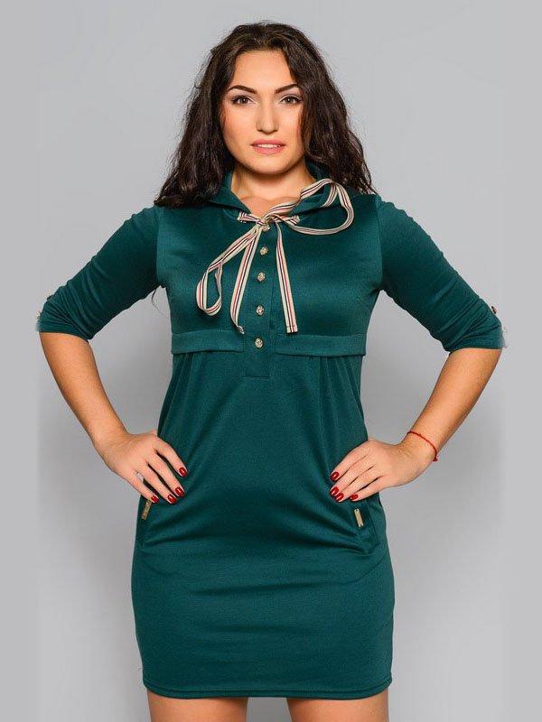 Платье зеленое | 2789219