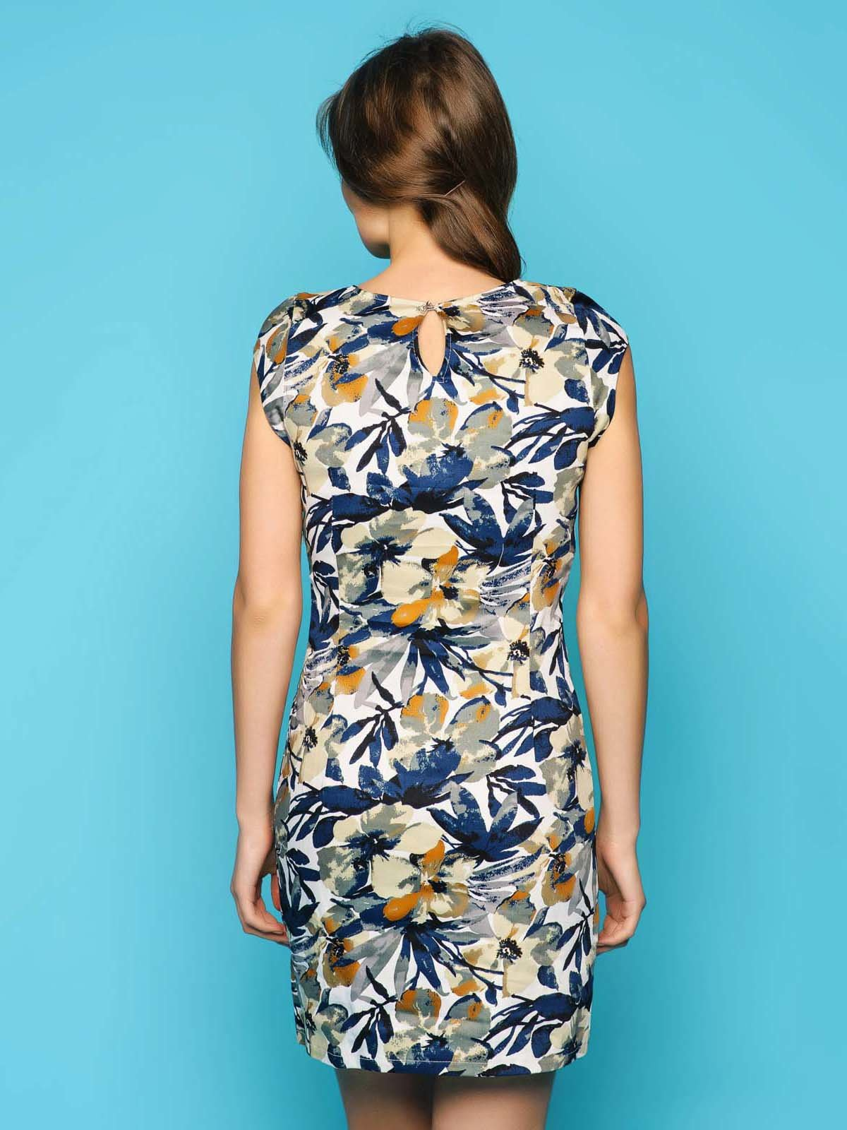 Платье с цветочным принтом | 2789274 | фото 3