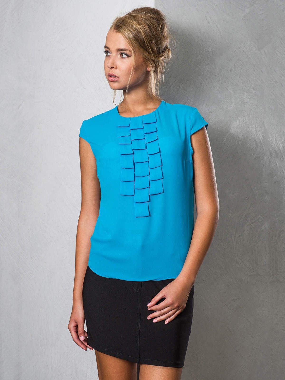 Блуза голубая | 2789322