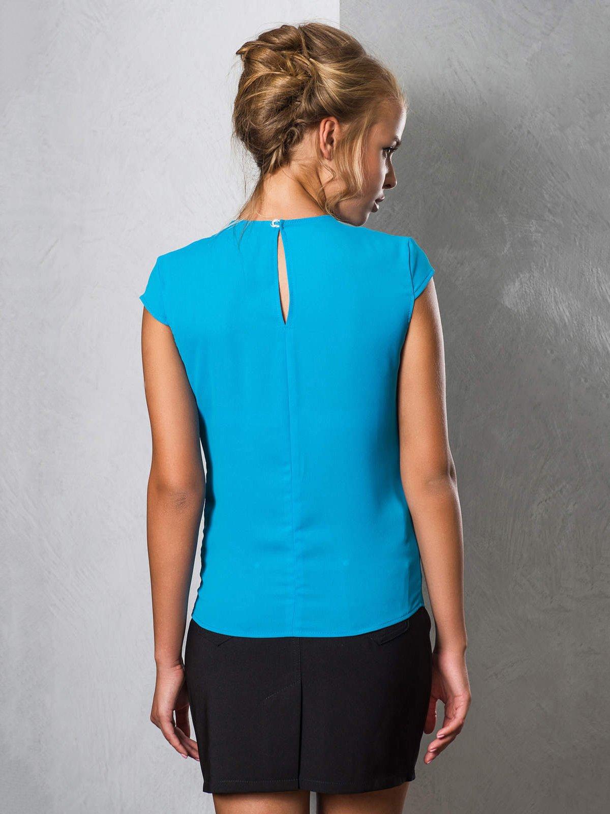 Блуза голубая | 2789322 | фото 2