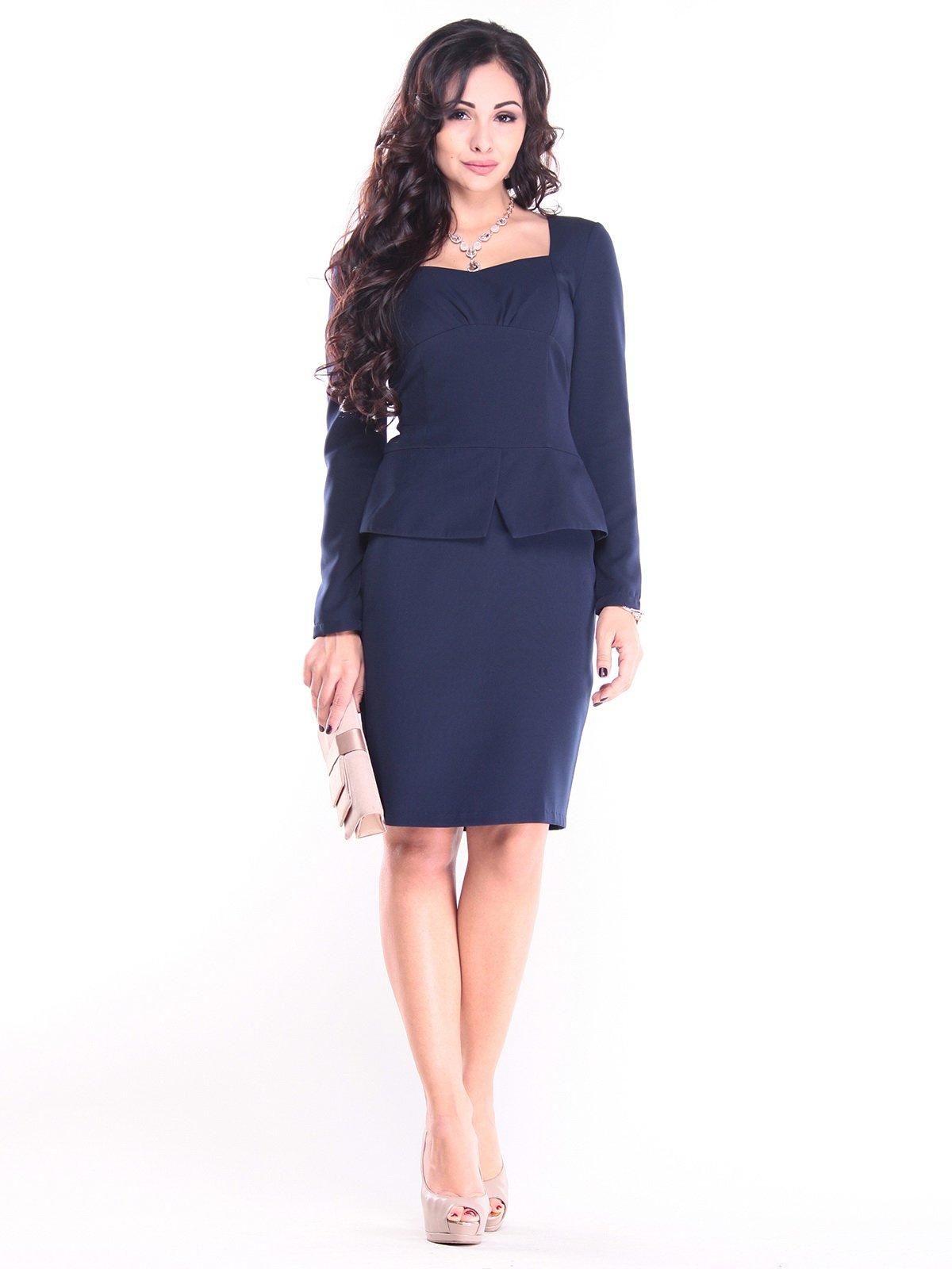 Сукня темно-синя | 2794099