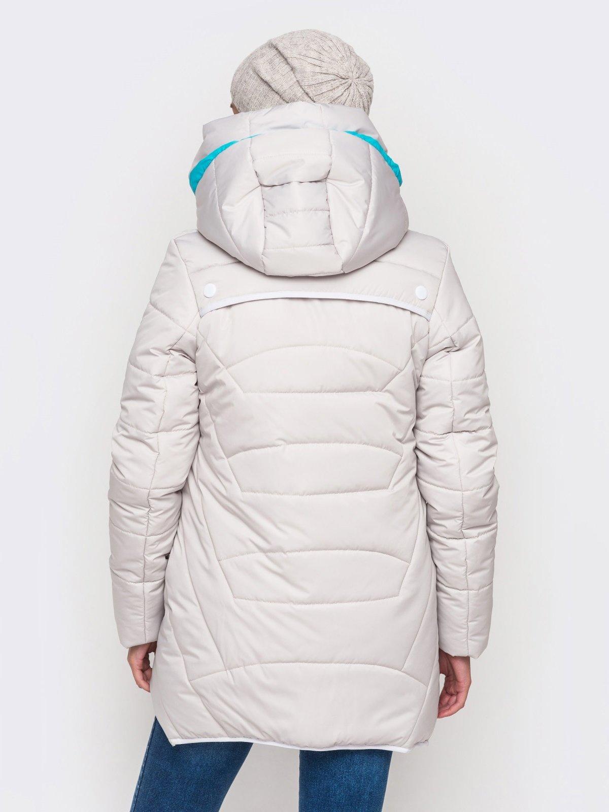 Куртка серая | 2819362 | фото 5