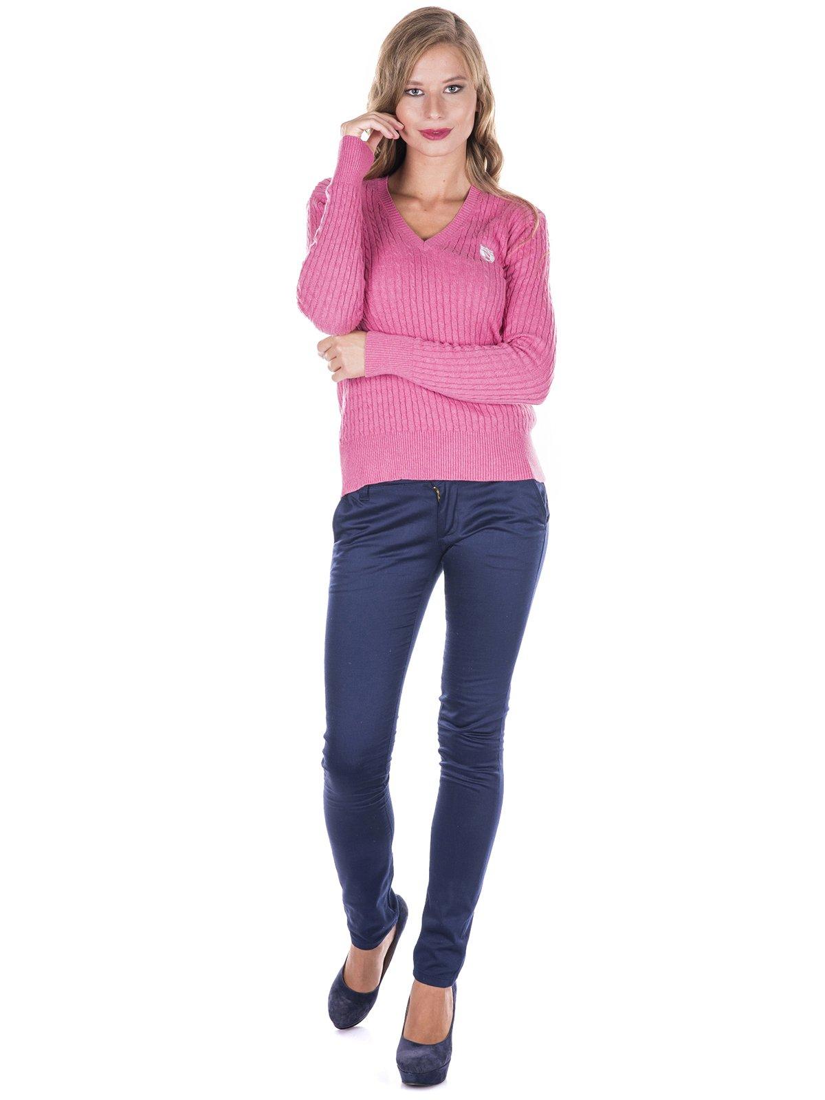Пуловер розовый | 2783520