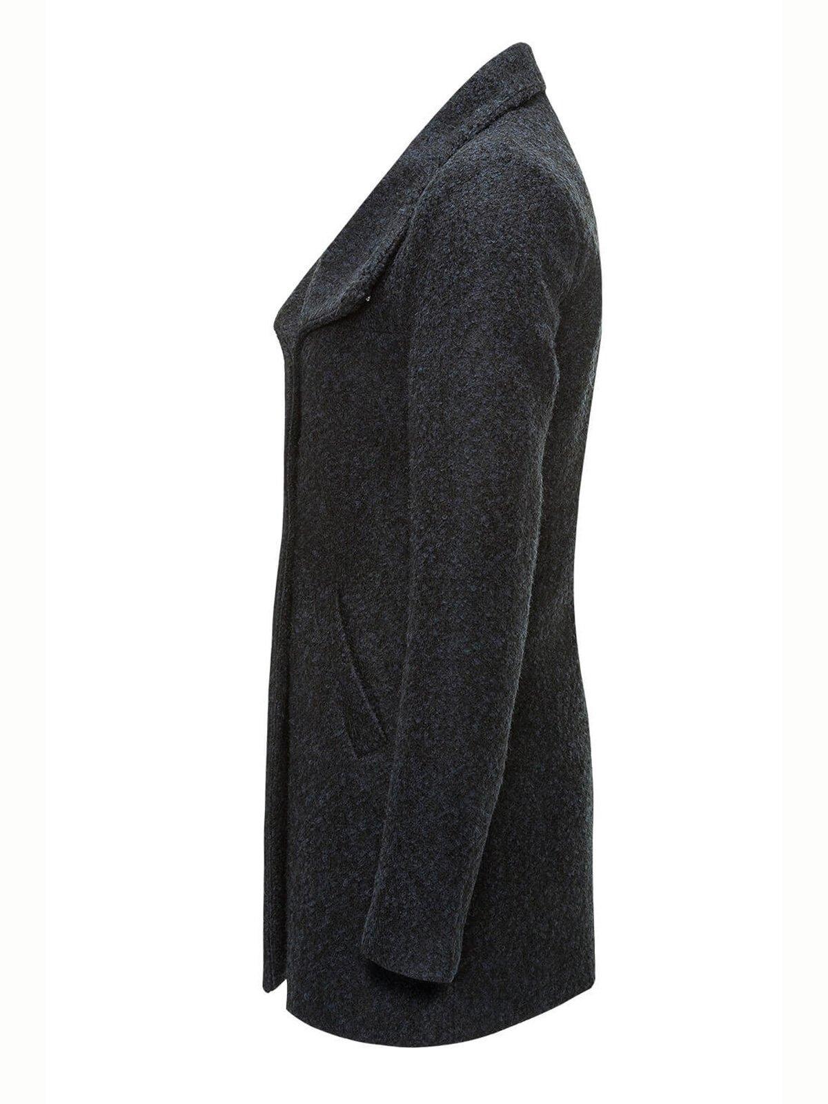 Пальто темно-синее | 2827817 | фото 2