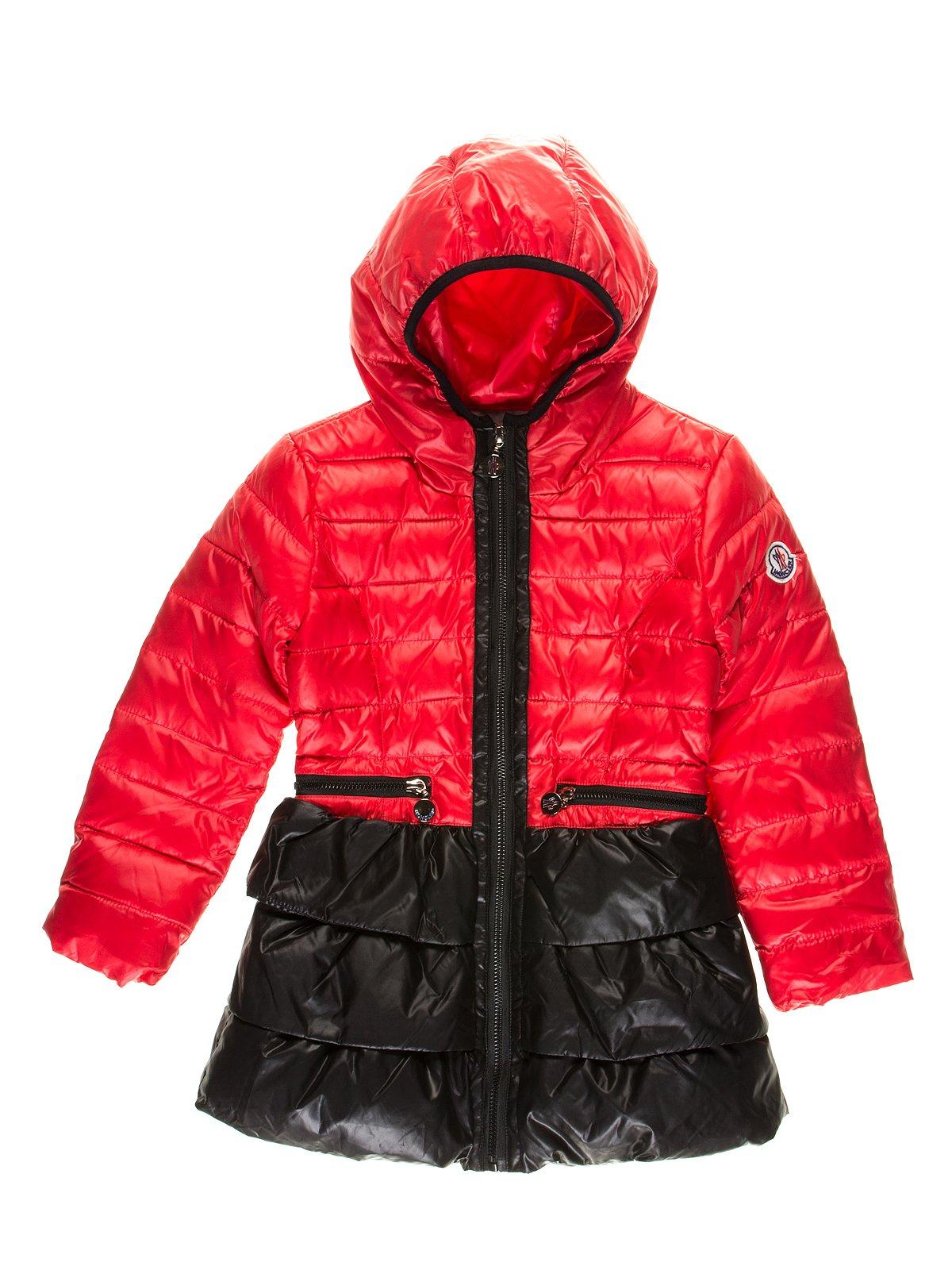 Пальто красно-черное | 2827493