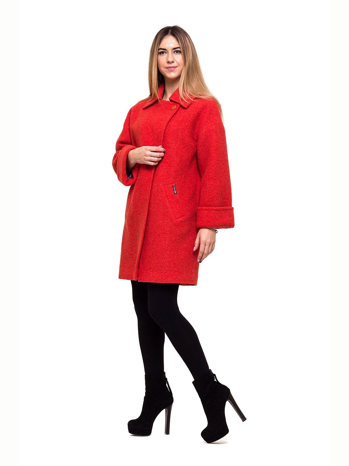 Пальто красное   2837192   фото 2