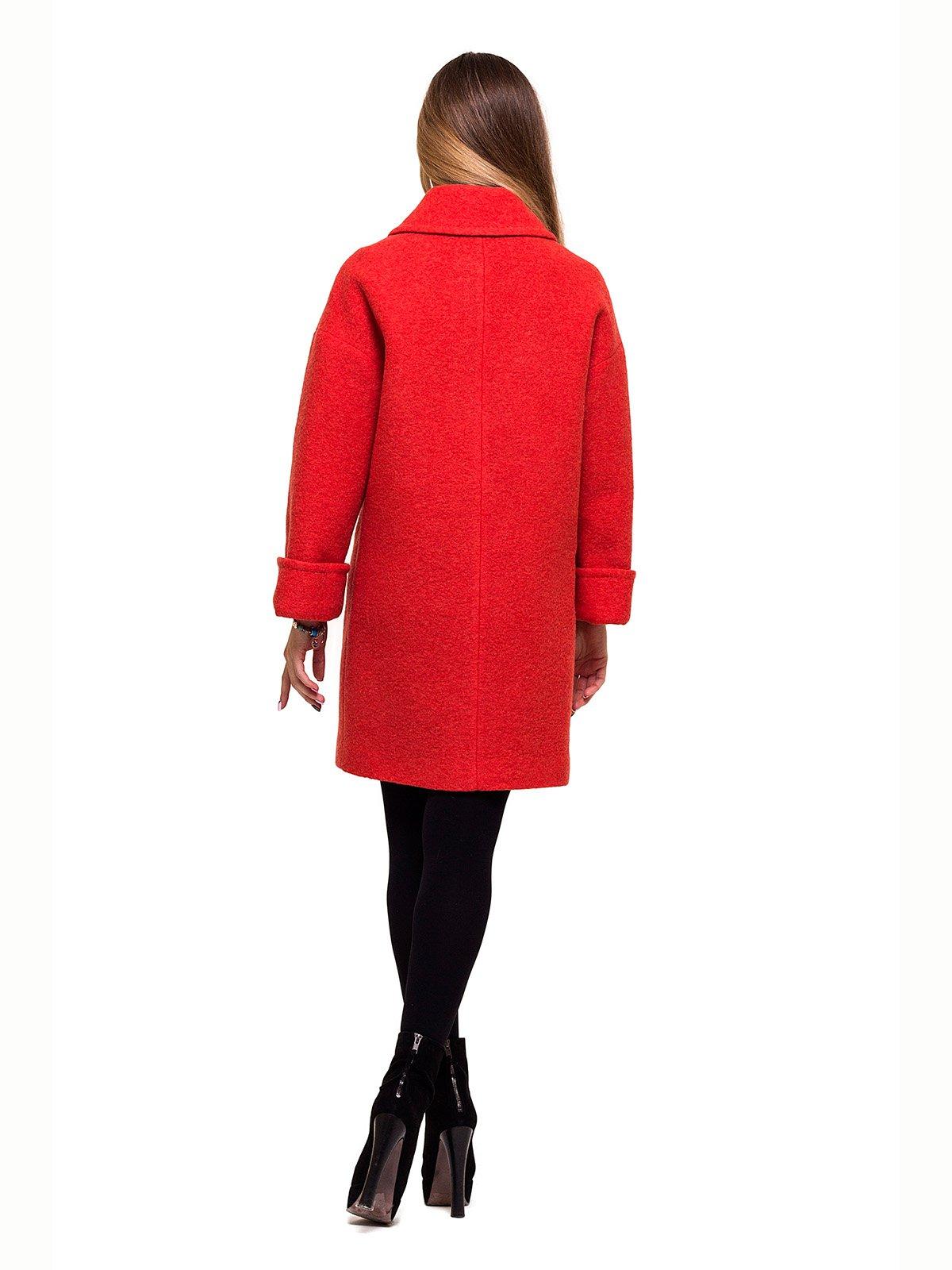 Пальто красное   2837192   фото 3