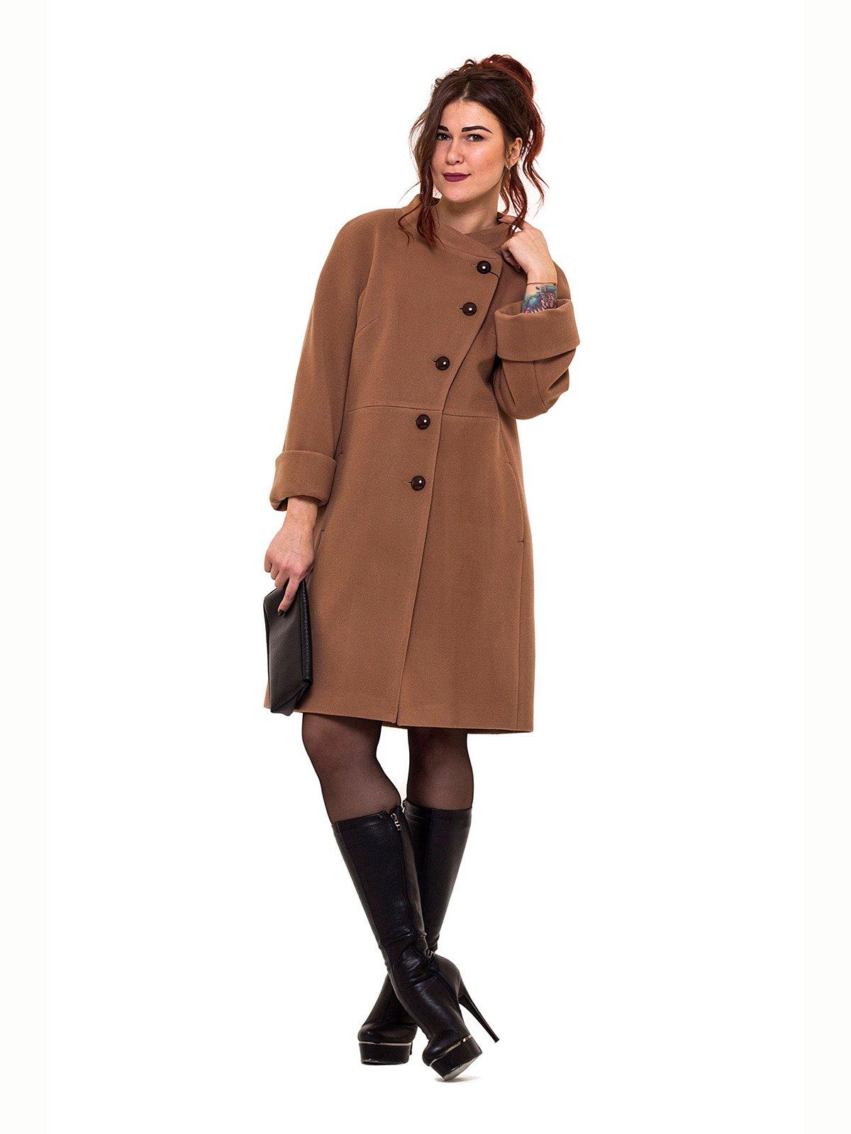 Пальто темно-бежевое | 2837210