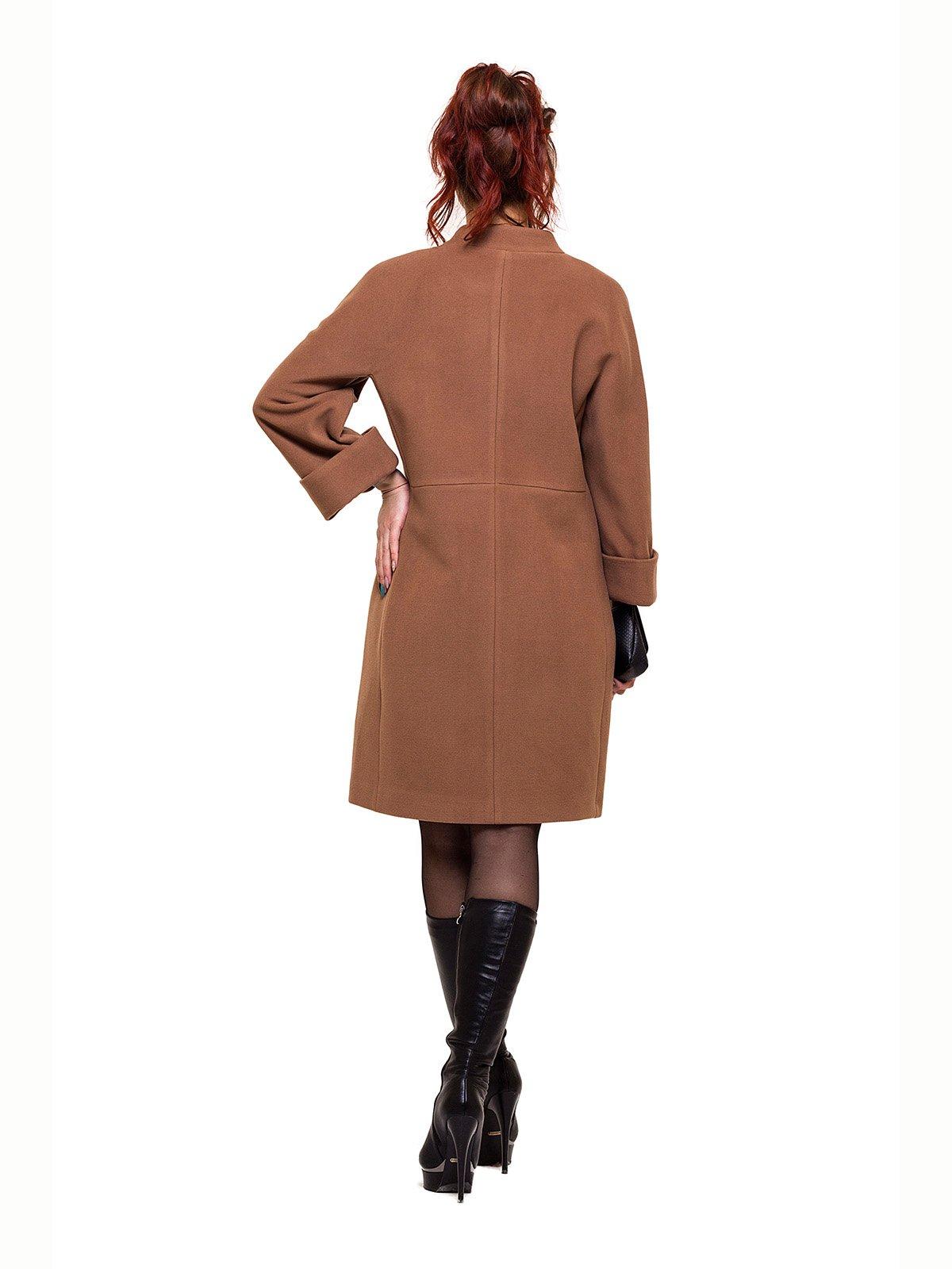 Пальто темно-бежевое | 2837210 | фото 2