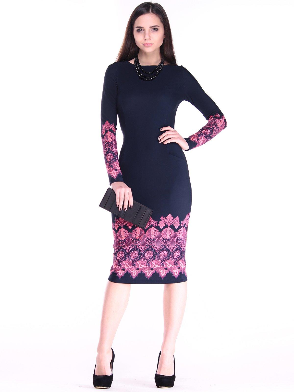 Платье с принтом | 2849568