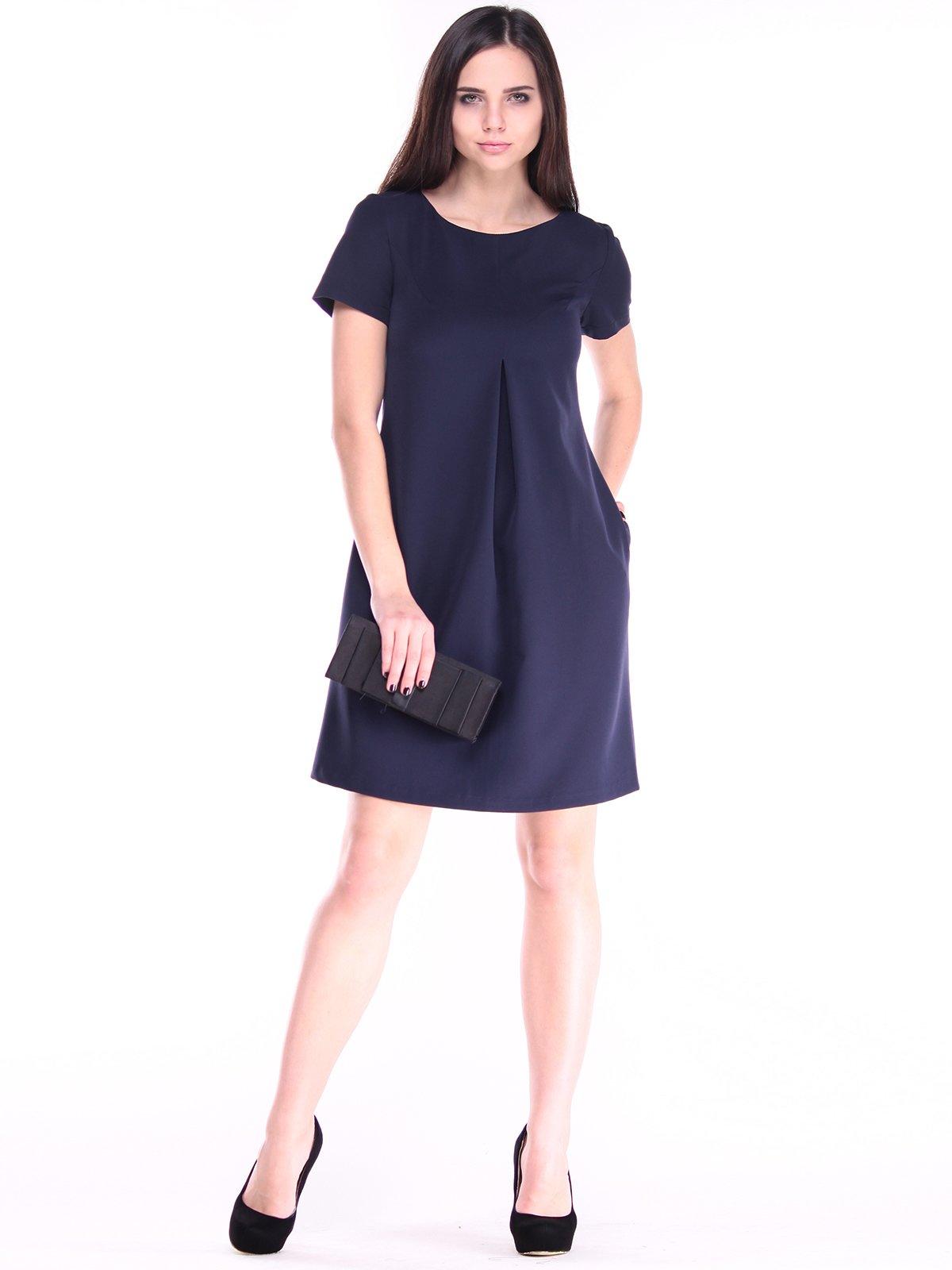 Платье темно-синее   2852990