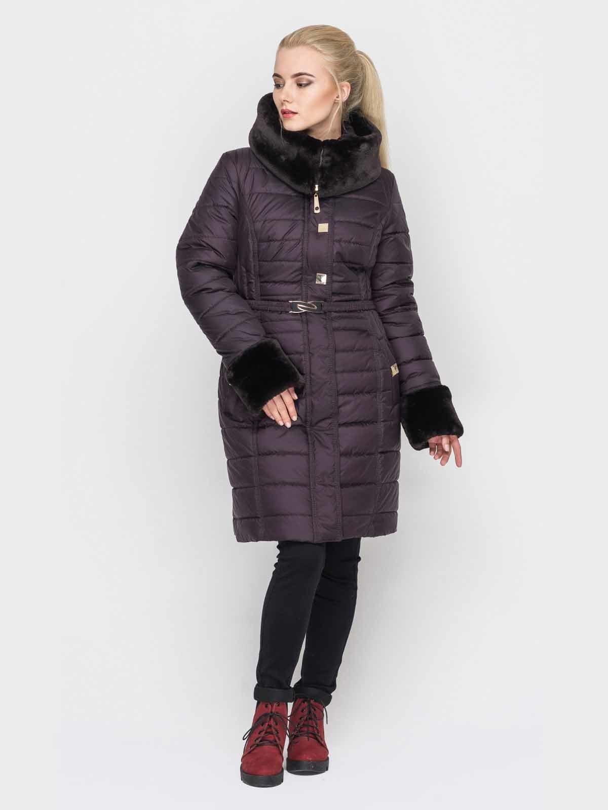Пальто фиолетовое | 2851704