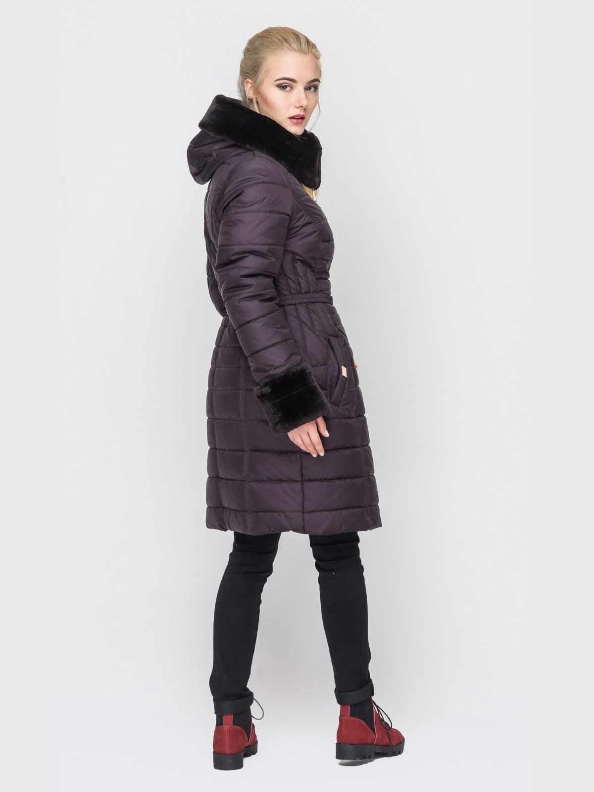 Пальто фиолетовое | 2851704 | фото 3