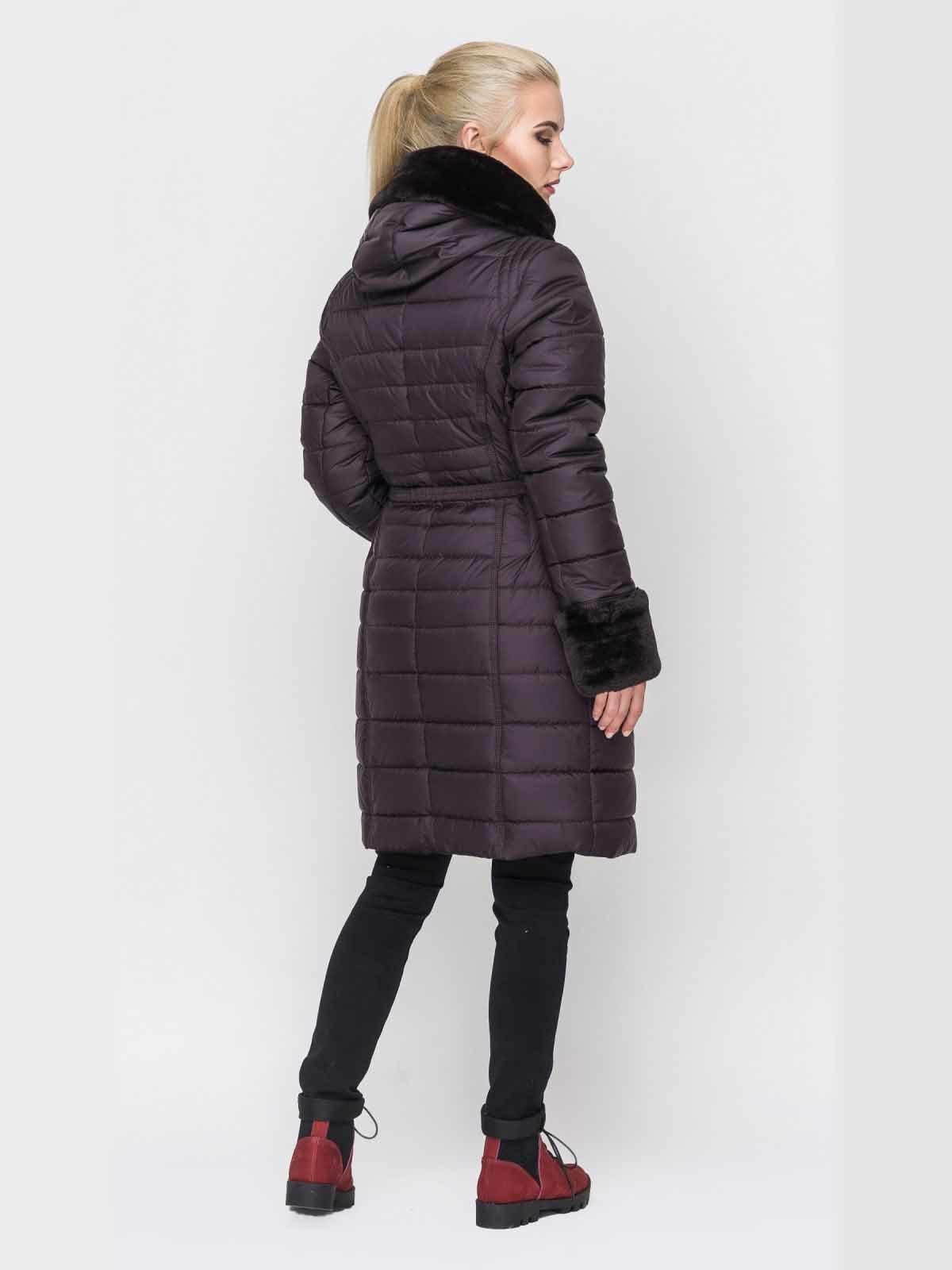 Пальто фиолетовое | 2851704 | фото 4