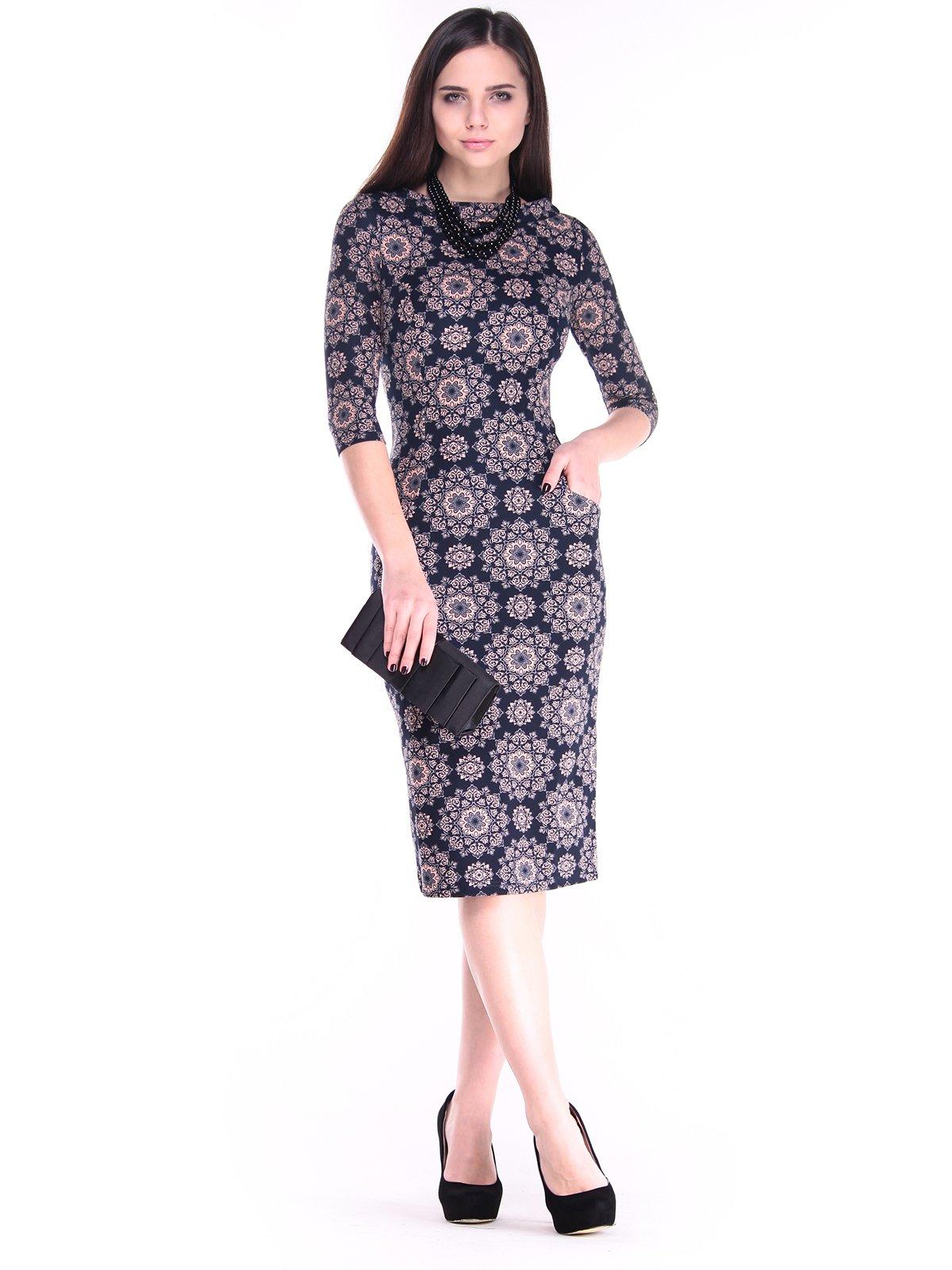 Платье в принт   2849567