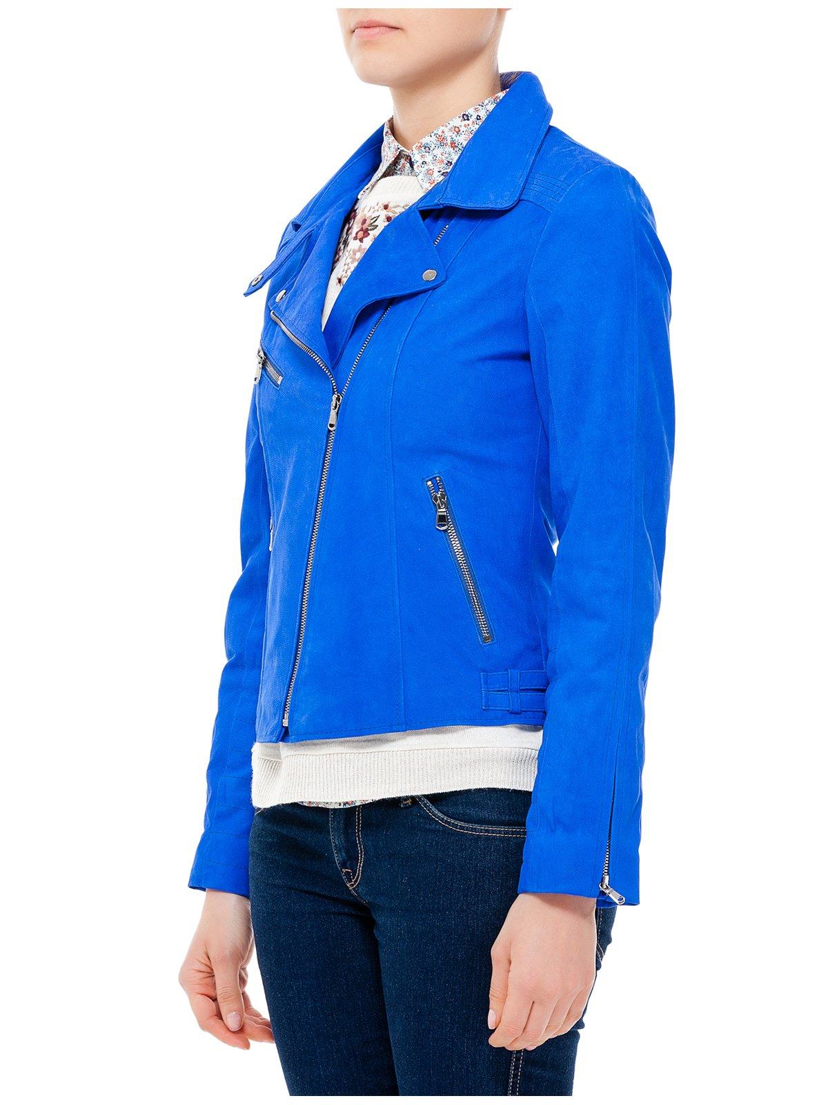 Куртка ярко-синяя | 2857052 | фото 2