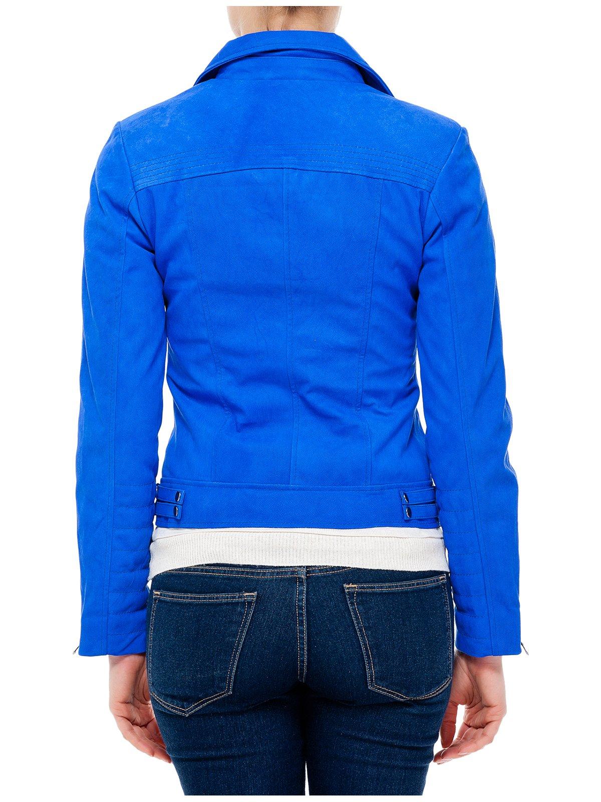 Куртка ярко-синяя | 2857052 | фото 3