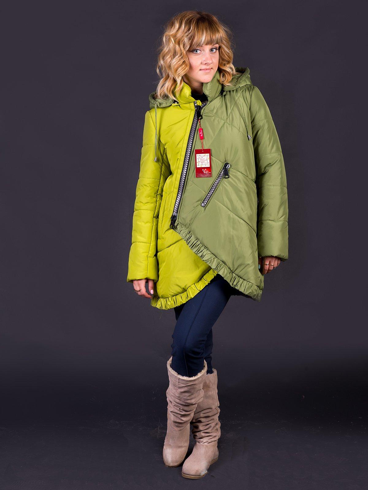 Куртка двоколірна | 2861208