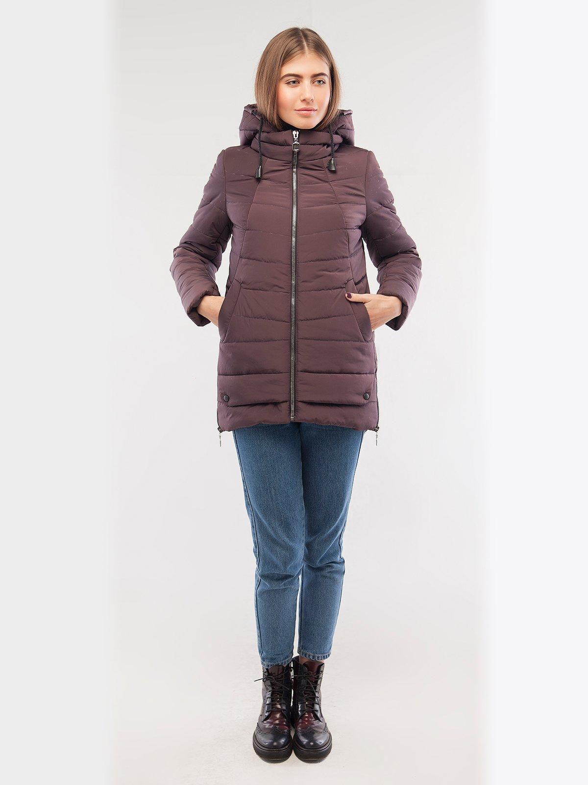 Куртка фіолетова | 2861243