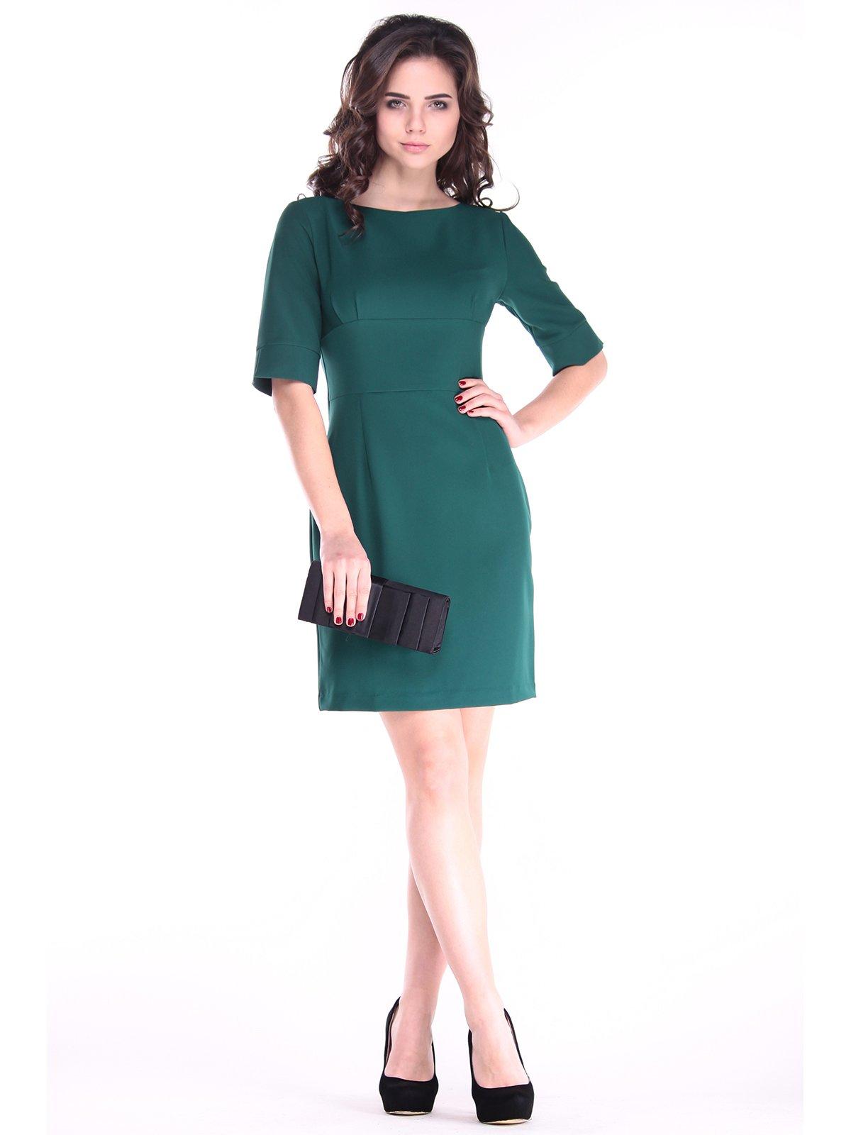 Сукня темно-смарагдового кольору | 2861886