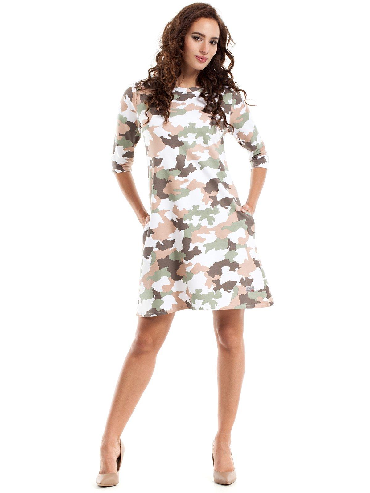 Сукня камуфляжного забарвлення | 2864621