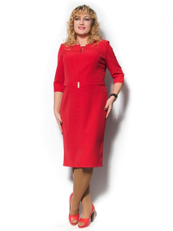 Платье красное | 2869043