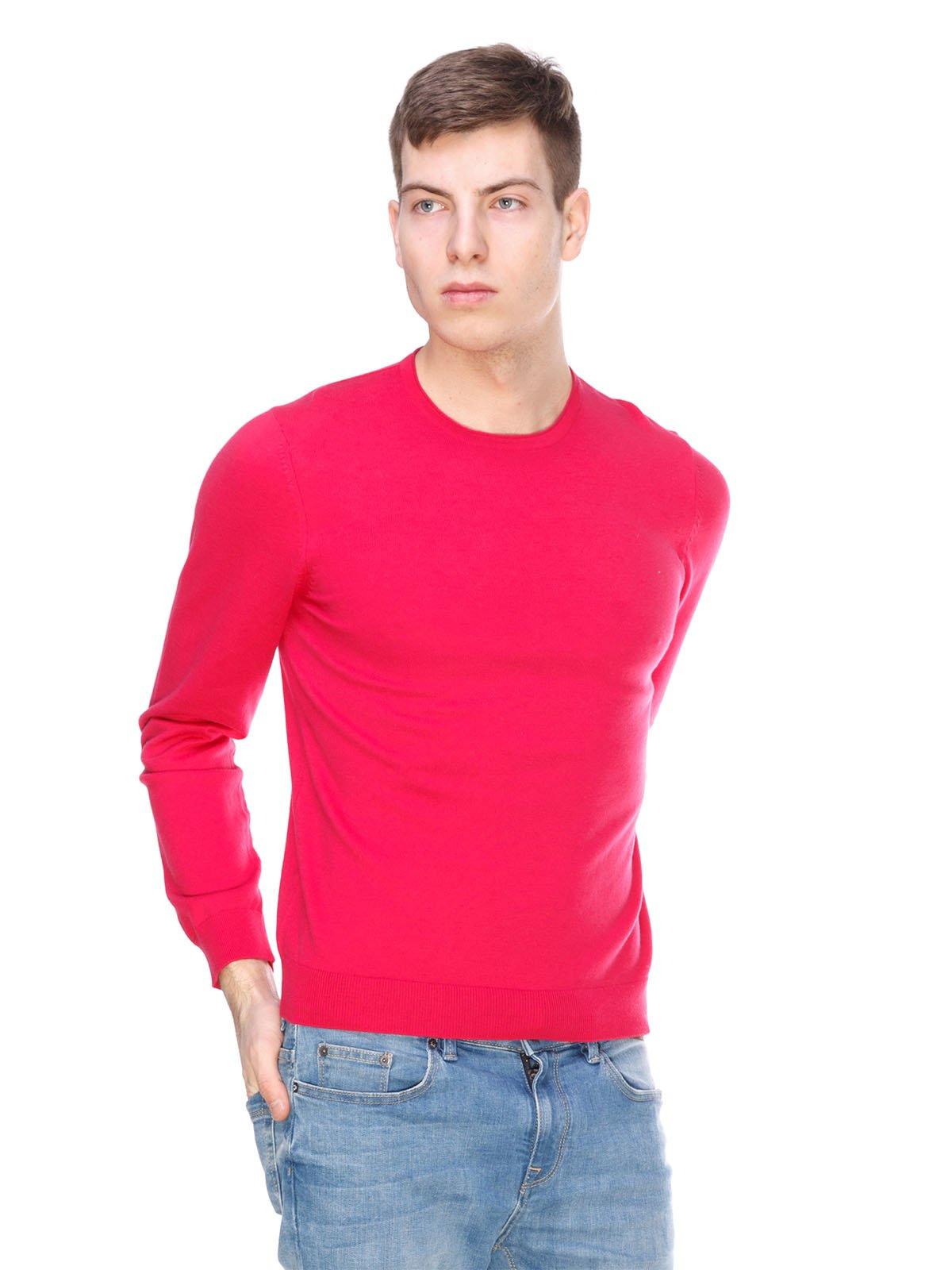 Джемпер малинового кольору | 1392348