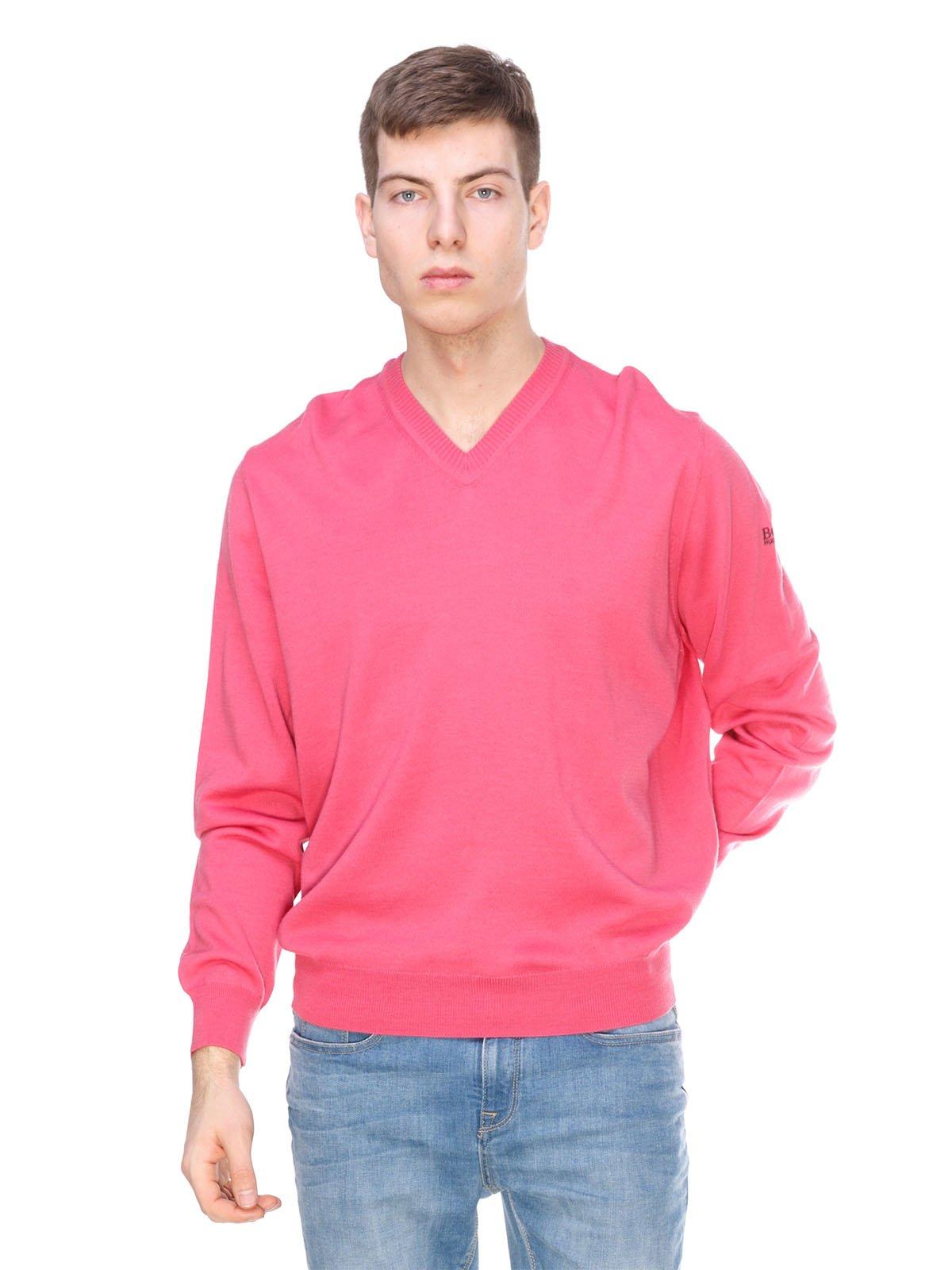 Пуловер розовый | 1392300