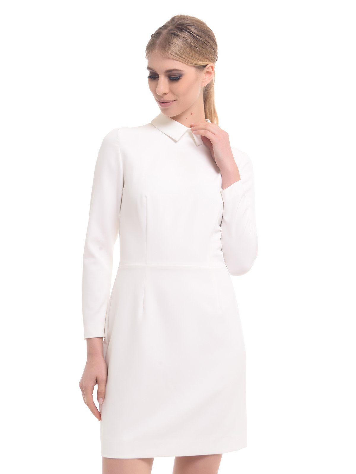 Платье молочного цвета | 2878560