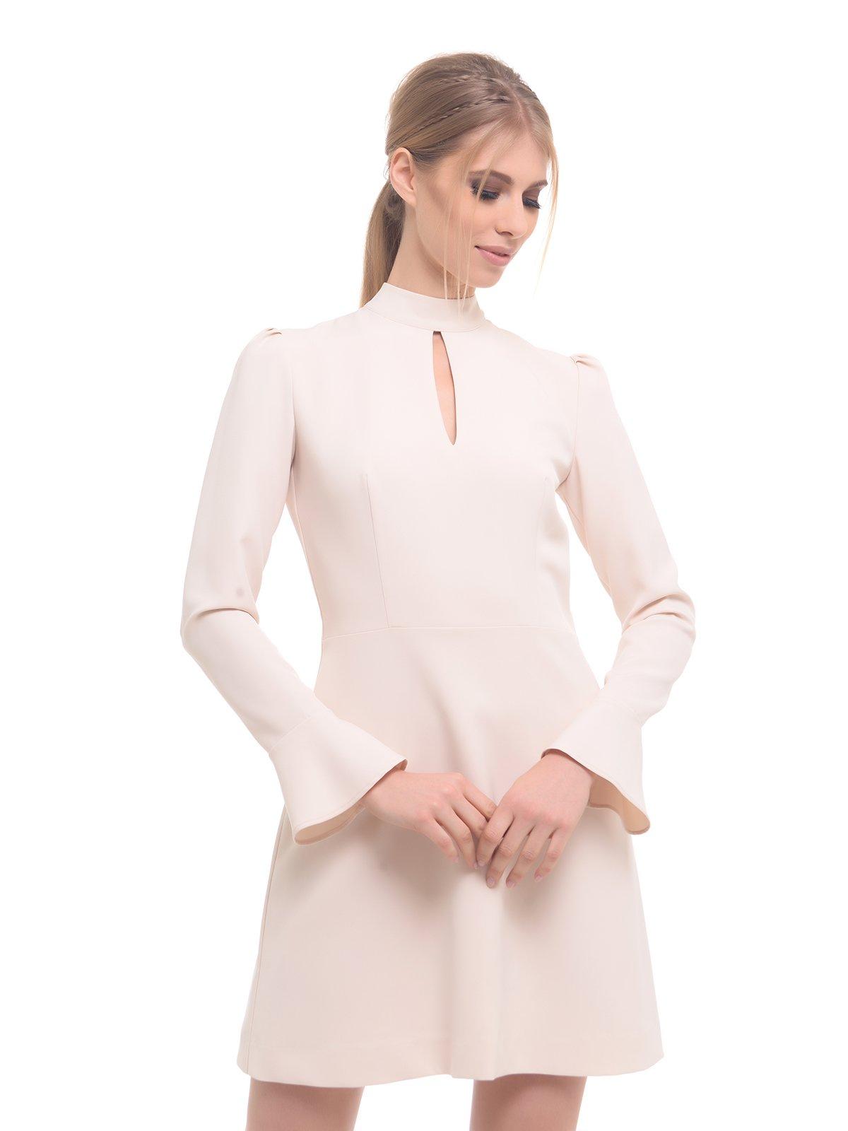 Платье светло-бежевое | 2878561