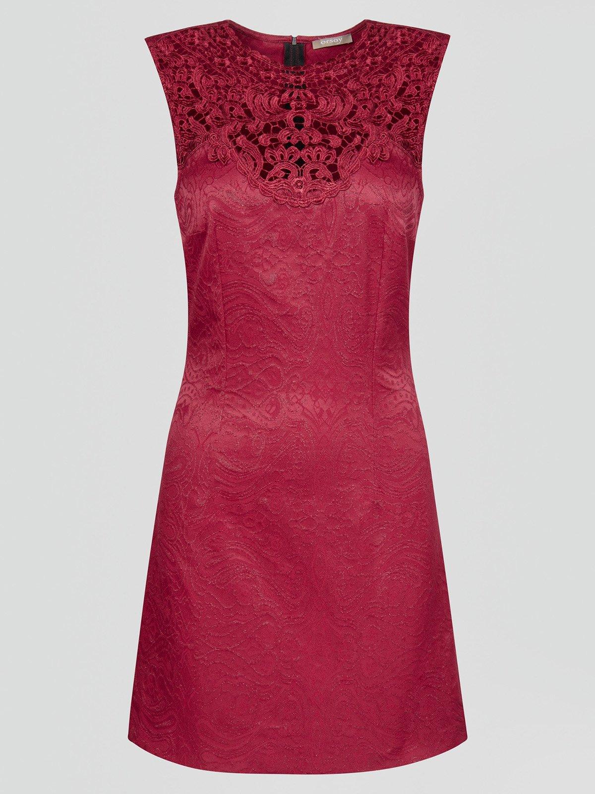 Платье бордовое | 2888429 | фото 3