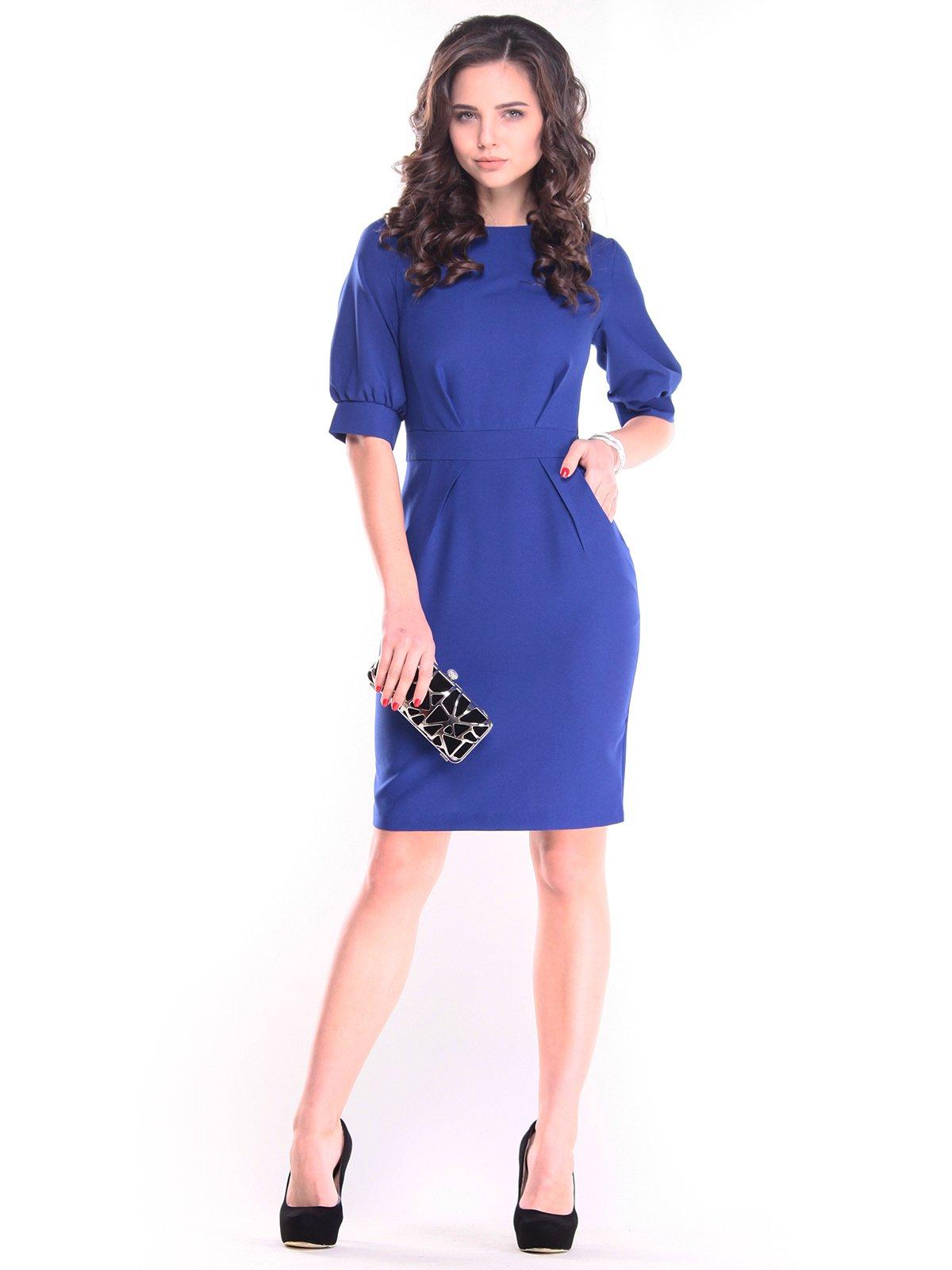 Платье цвета электрик   2844963