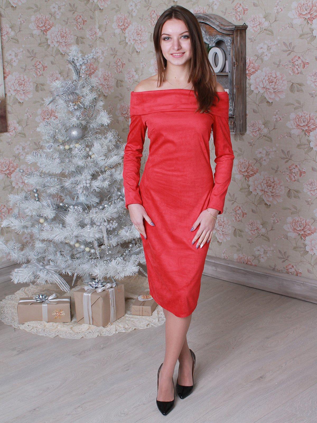 Платье красное | 2908088