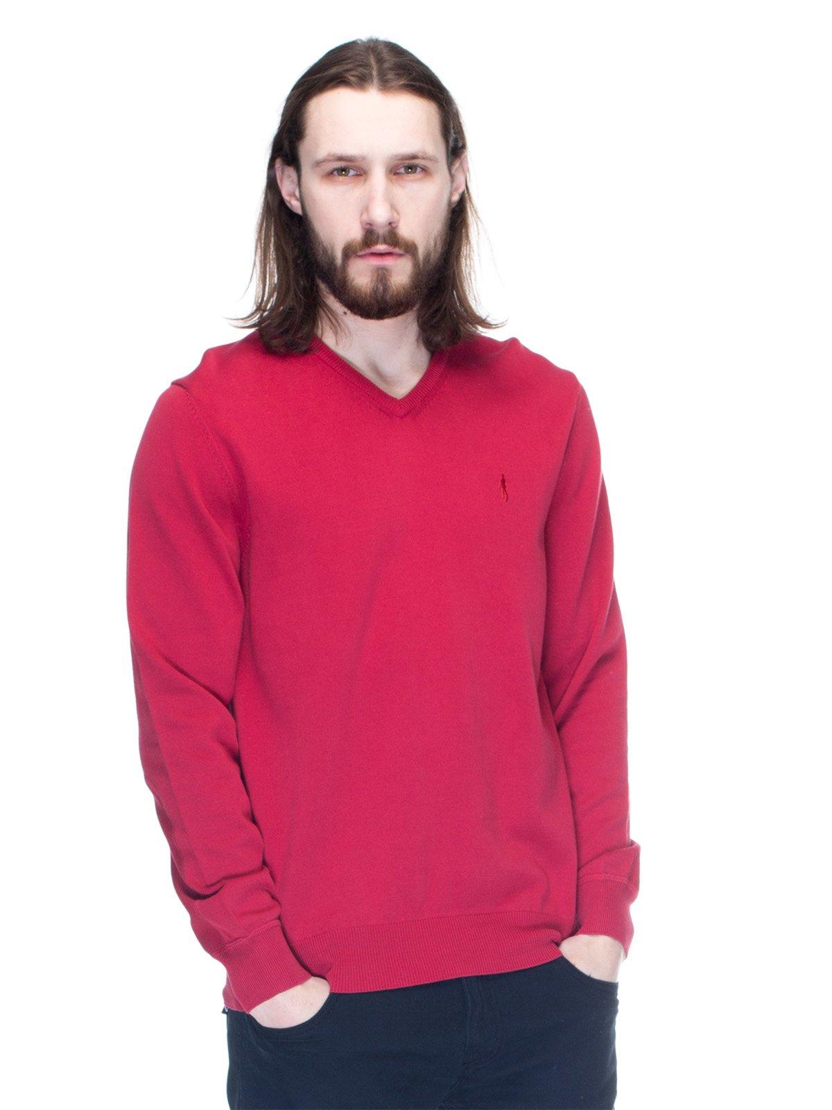 Пуловер червоний | 1353272