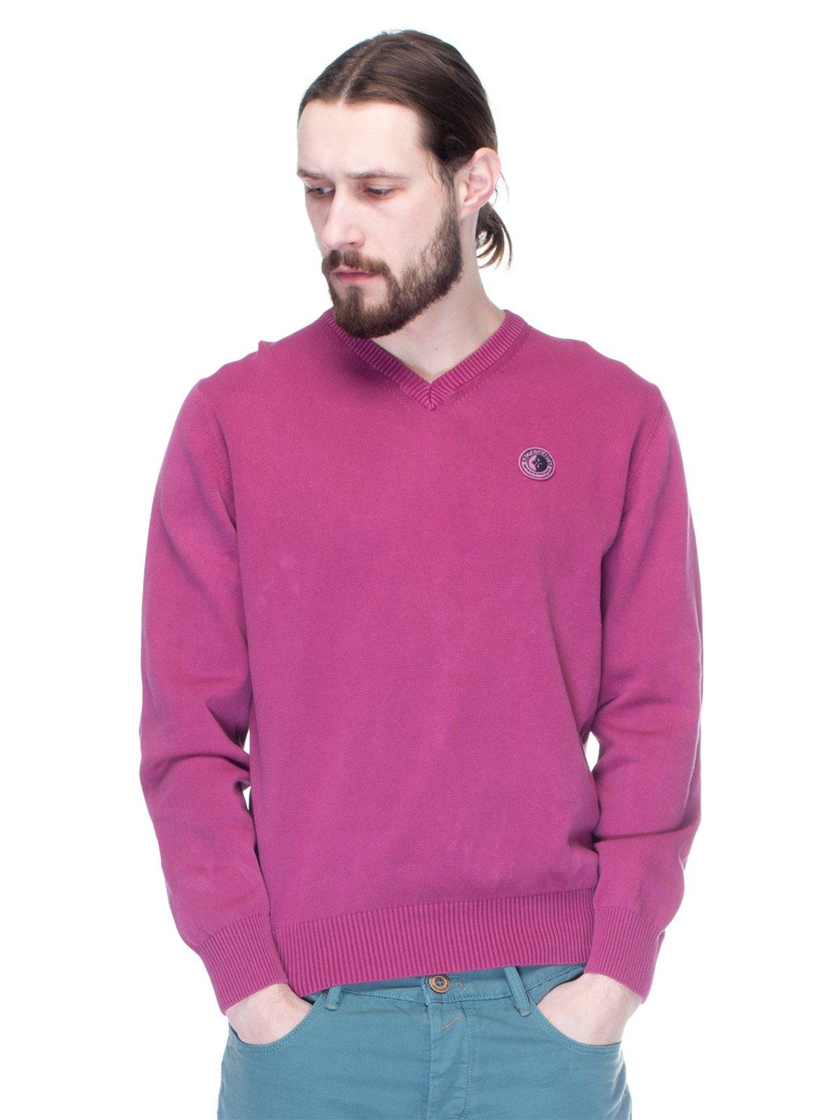 Пуловер темно-бузковий | 1353243