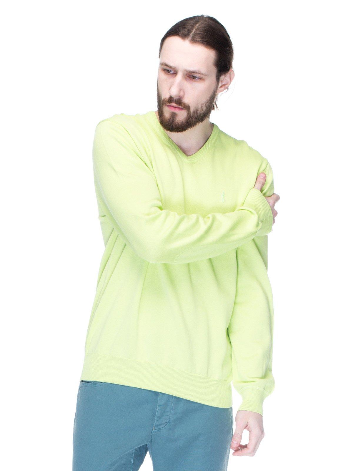 Пуловер салатовий | 1353274