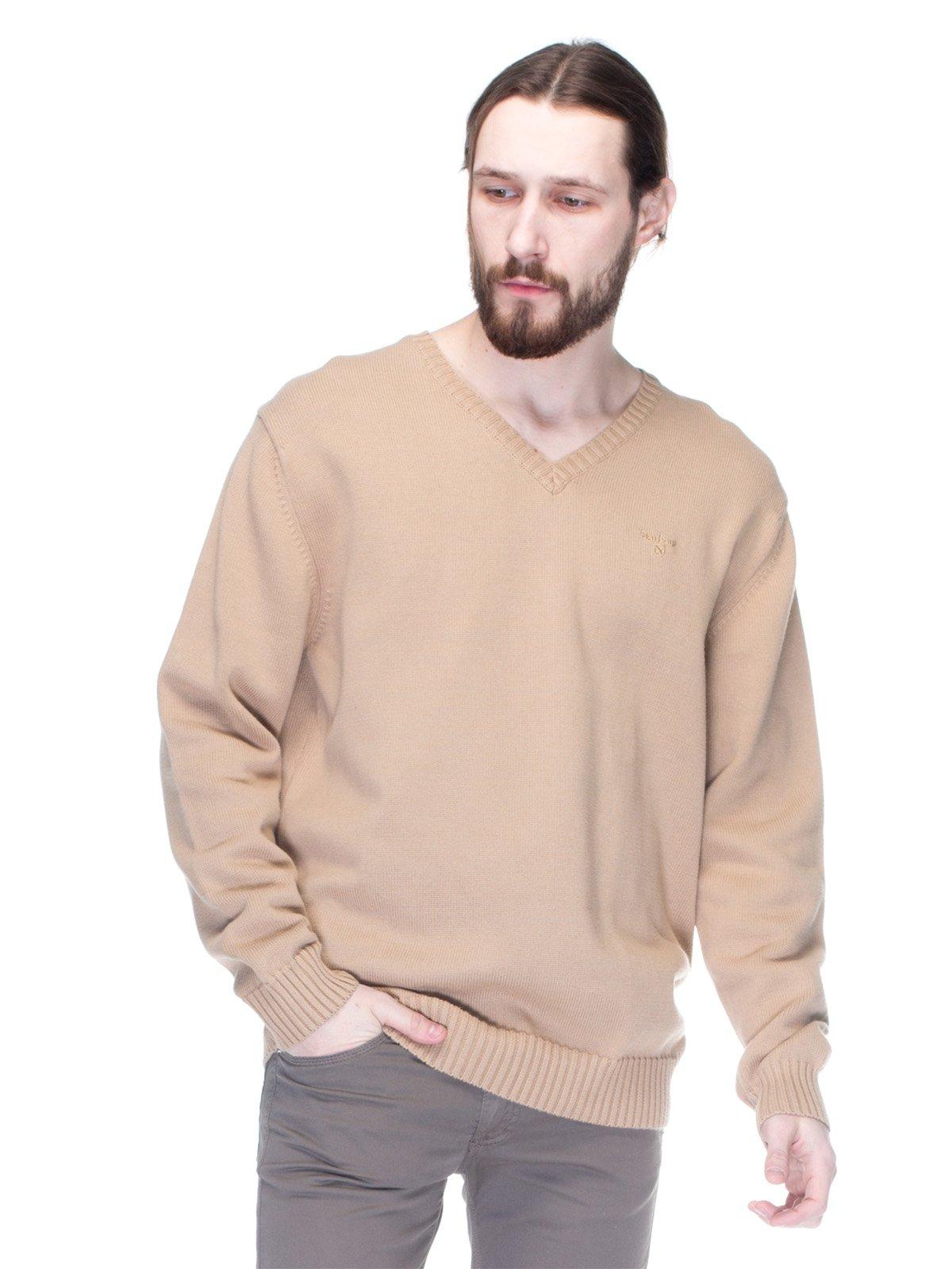 Пуловер бежевий | 1352636