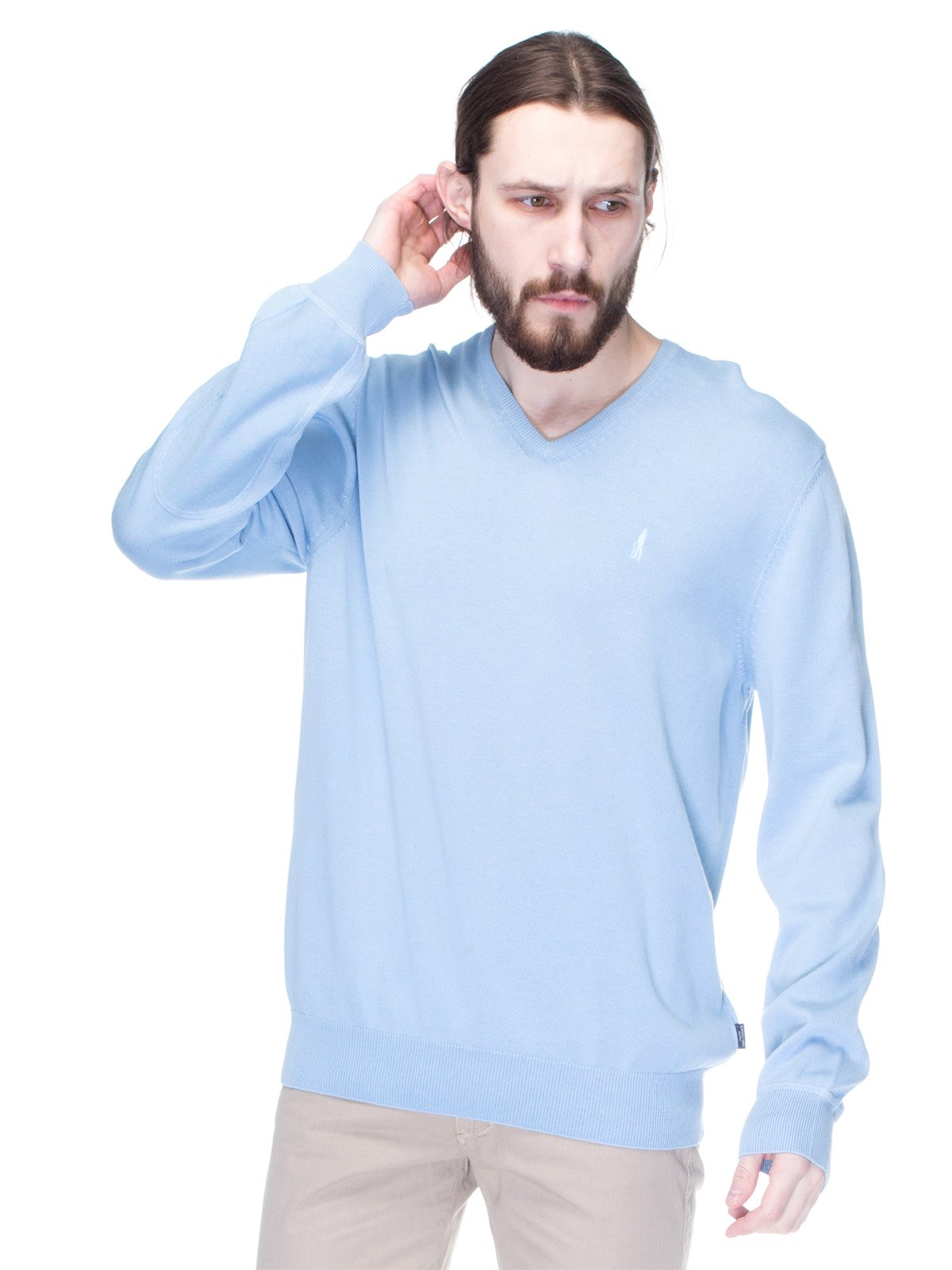 Пуловер блакитний | 1353273