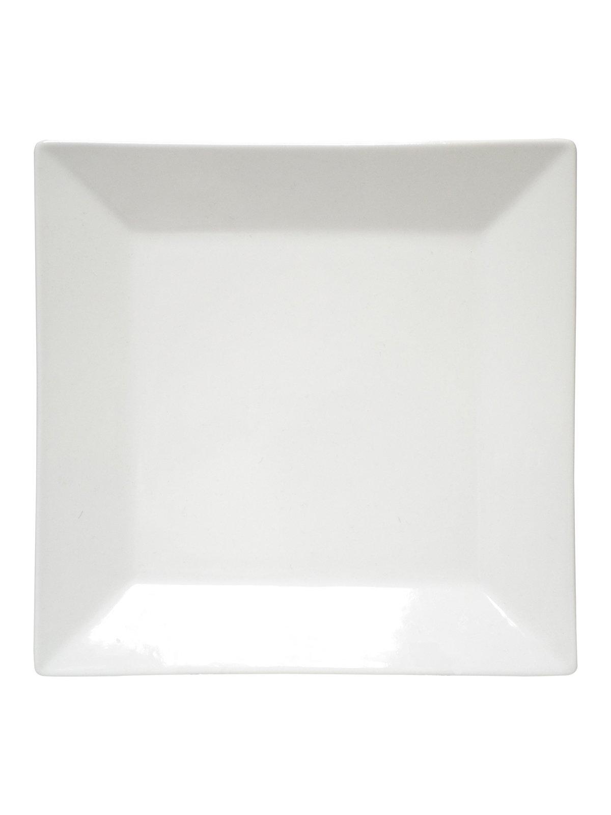 Тарілка мілка квадратна (21,5х21,5 см) | 2898554