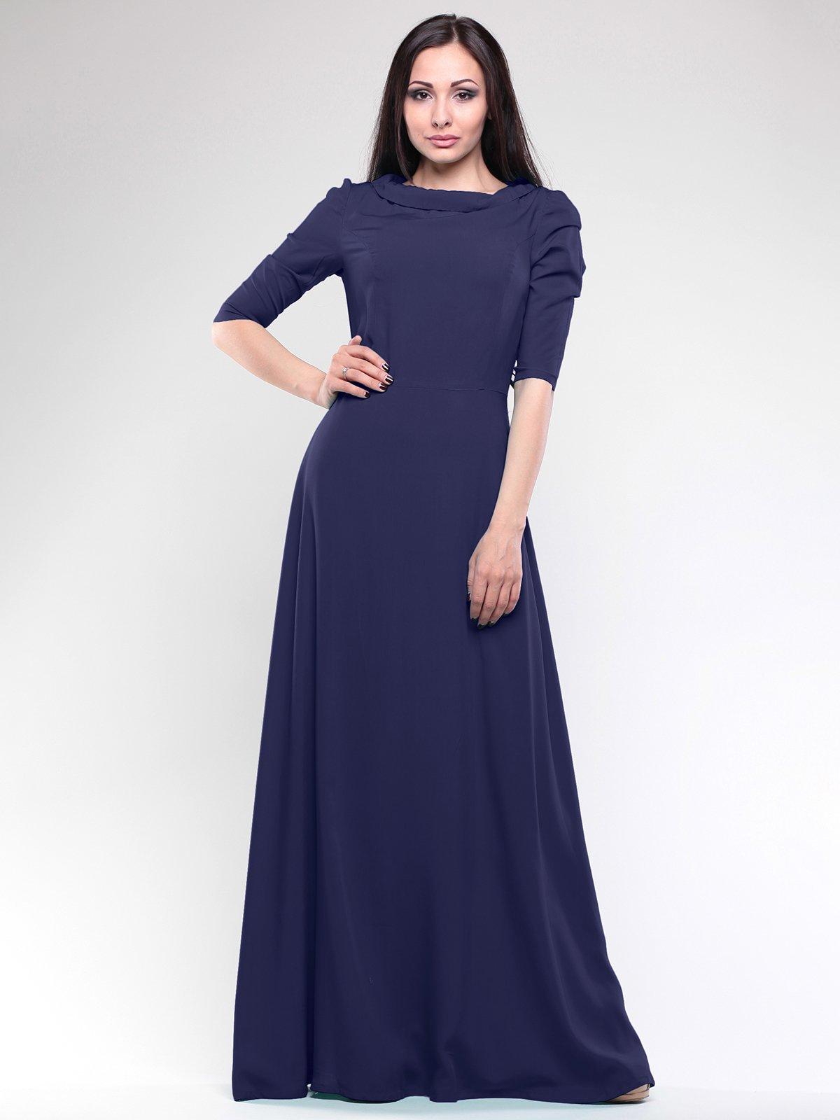 Платье темно-синее | 1680598