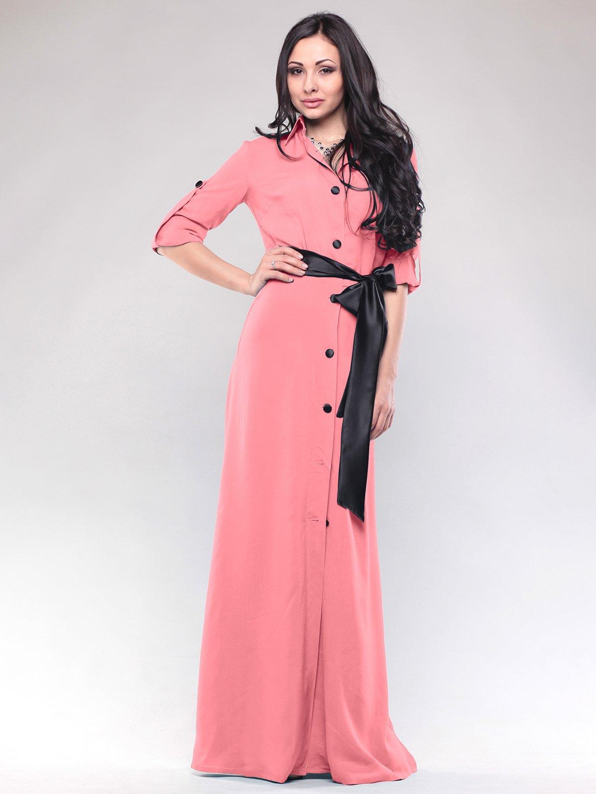 Платье светло-кораллового цвета   2828234