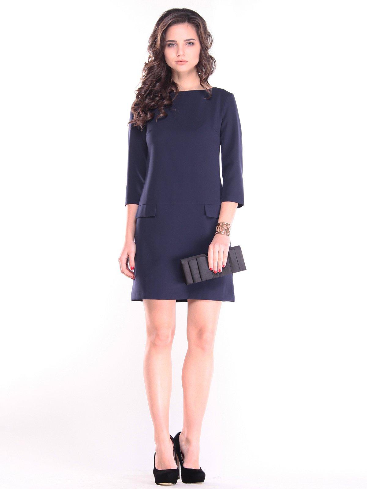 Платье темно-синее   2844981