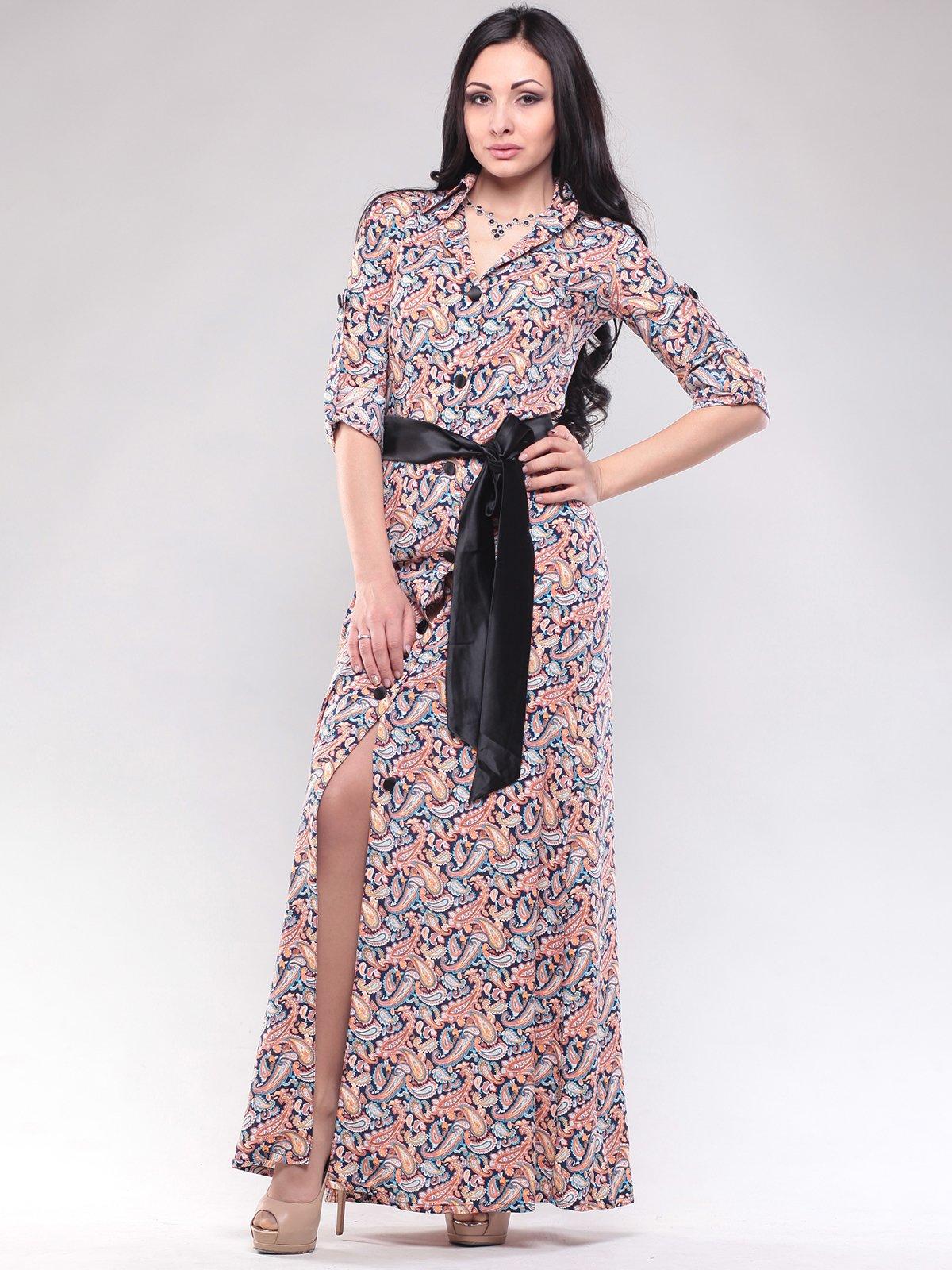 Сукня в екзотичний принт   2914868