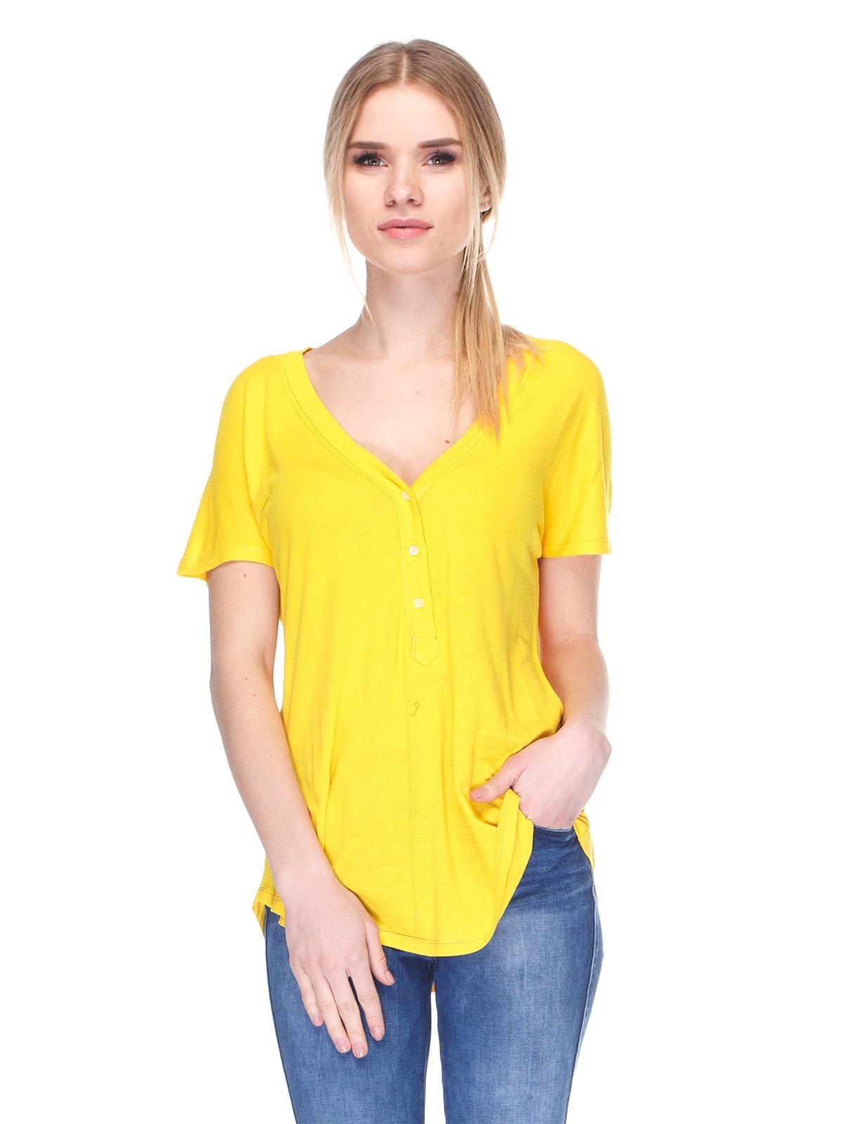 Футболка жовта | 2146490