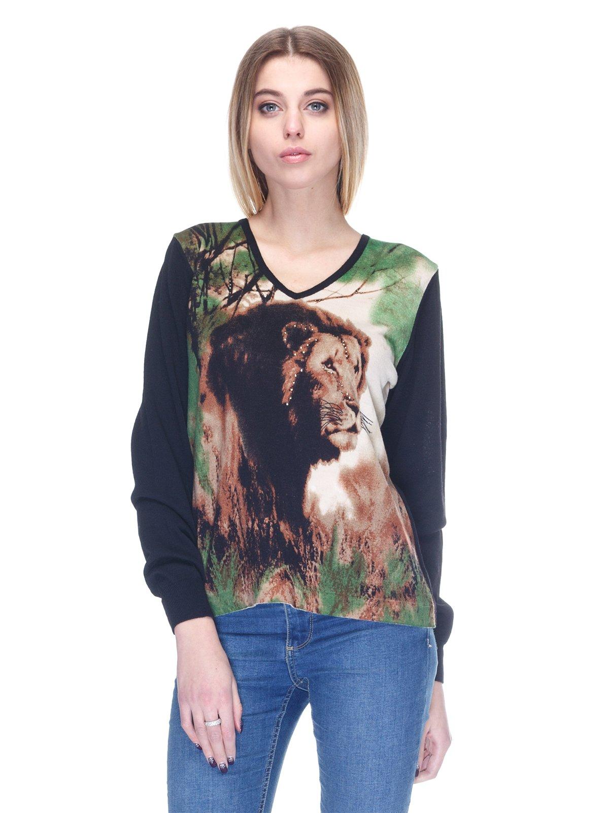 Пуловер черный   2928675