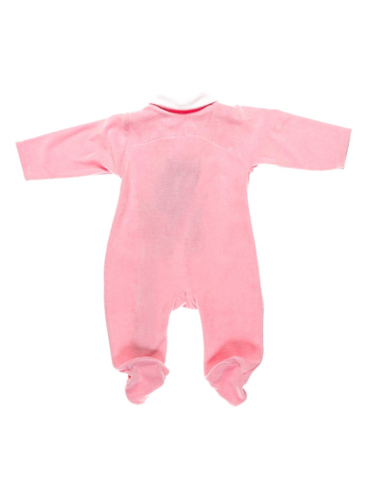 Человечек розовый с аппликацией велюровый | 2930109 | фото 2